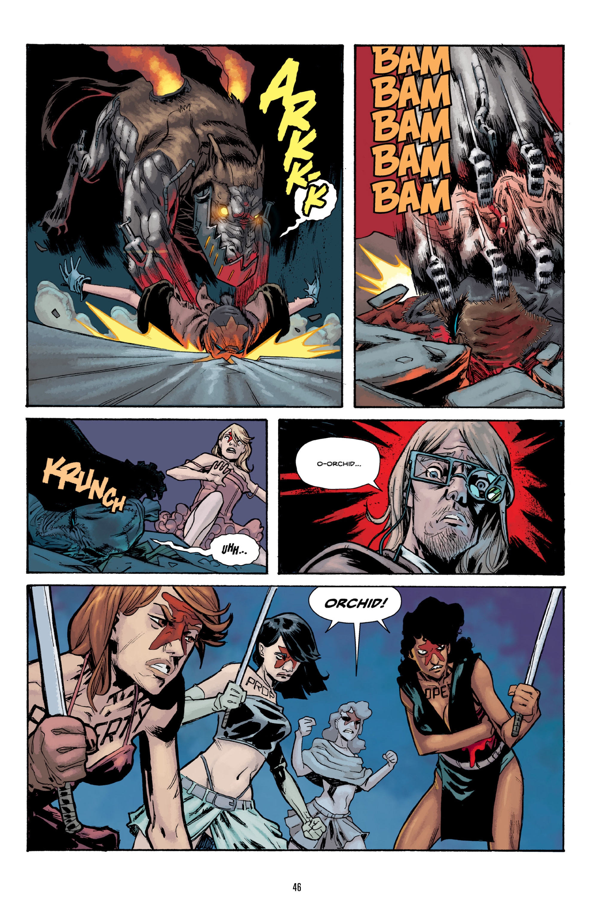 Read online Orchid comic -  Issue # TPB 3 - 46