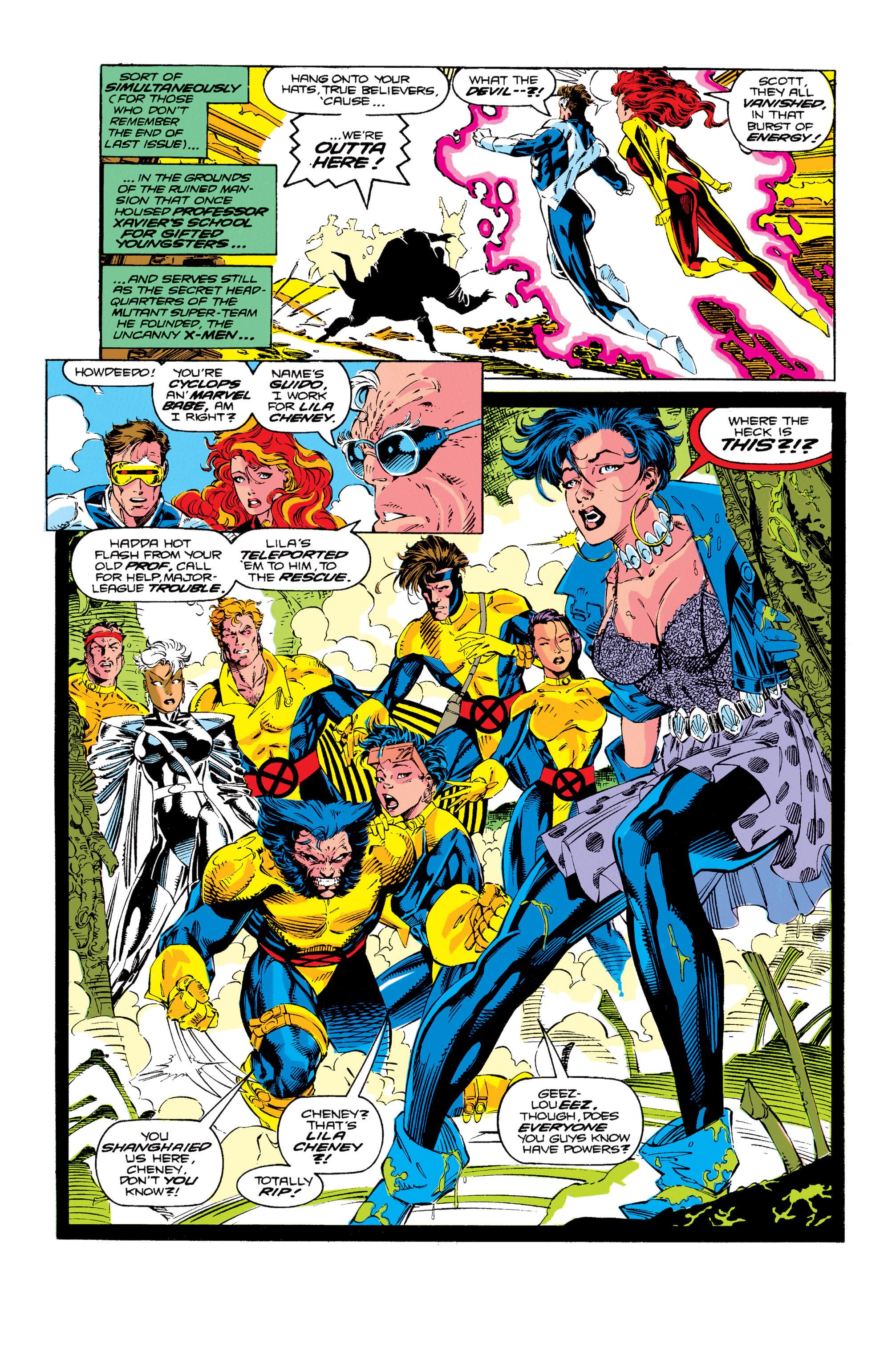 Read online Uncanny X-Men (1963) comic -  Issue #274 - 19