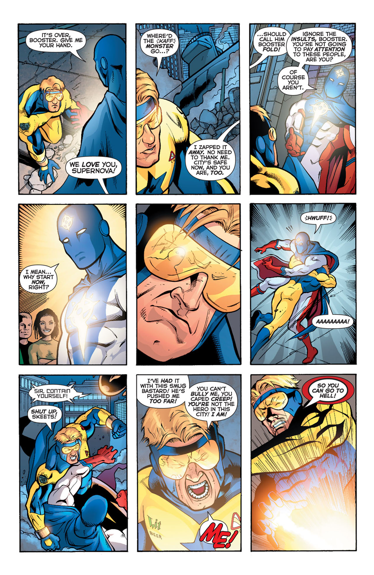Read online 52 comic -  Issue #15 - 17