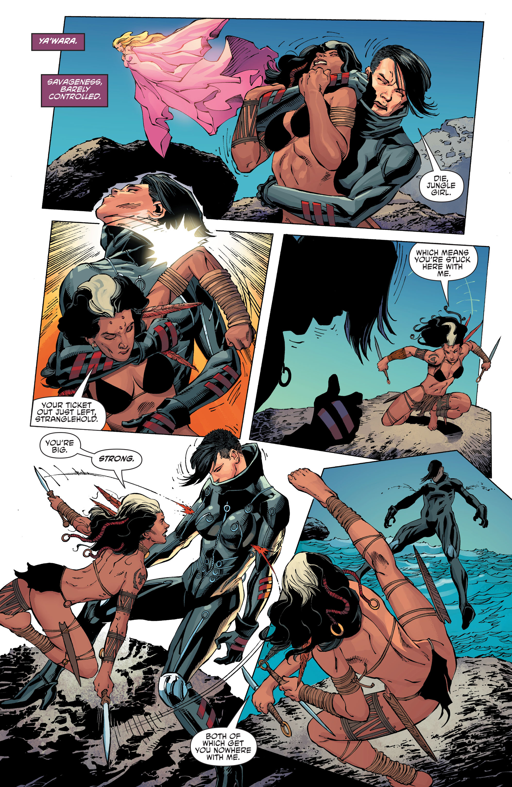 Read online Aquaman and the Others comic -  Issue #11 - 10