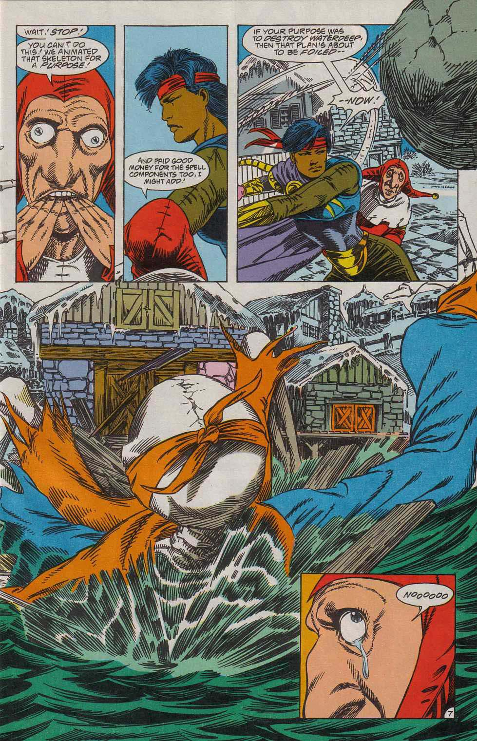 Read online Advanced Dungeons & Dragons comic -  Issue #7 - 8