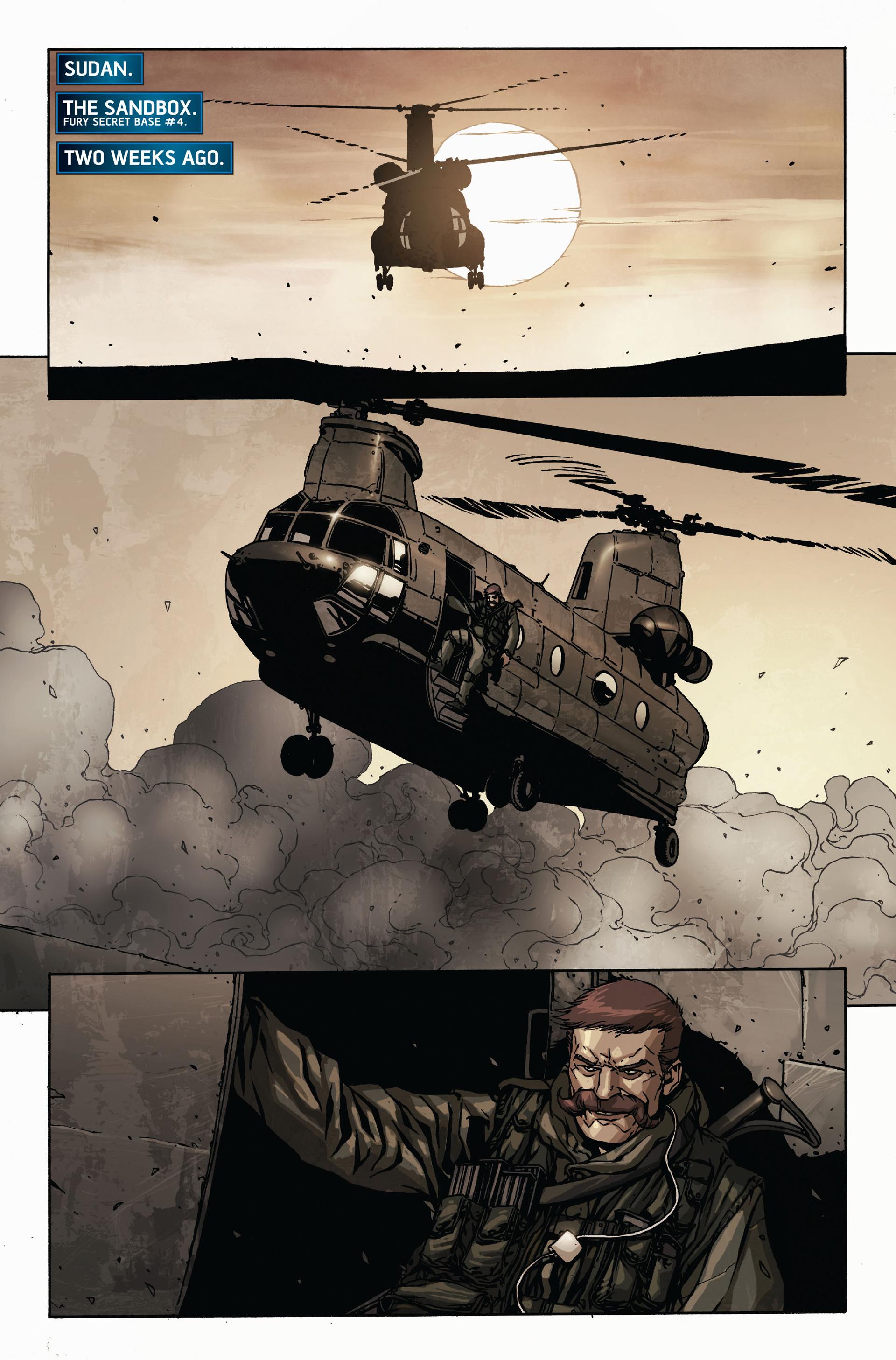 Read online Secret Warriors comic -  Issue #17 - 9