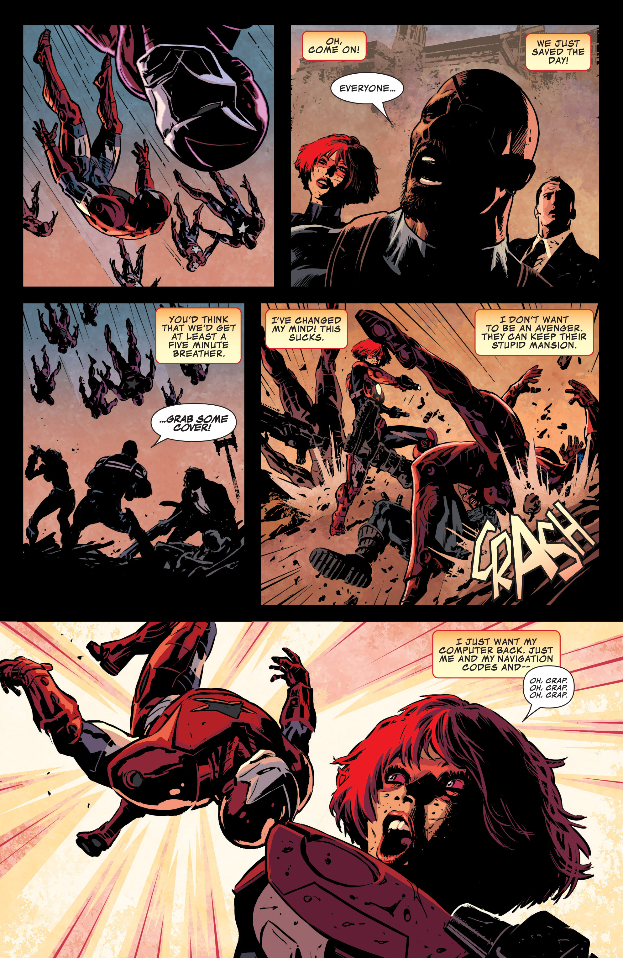 Read online Secret Avengers (2013) comic -  Issue #10 - 19
