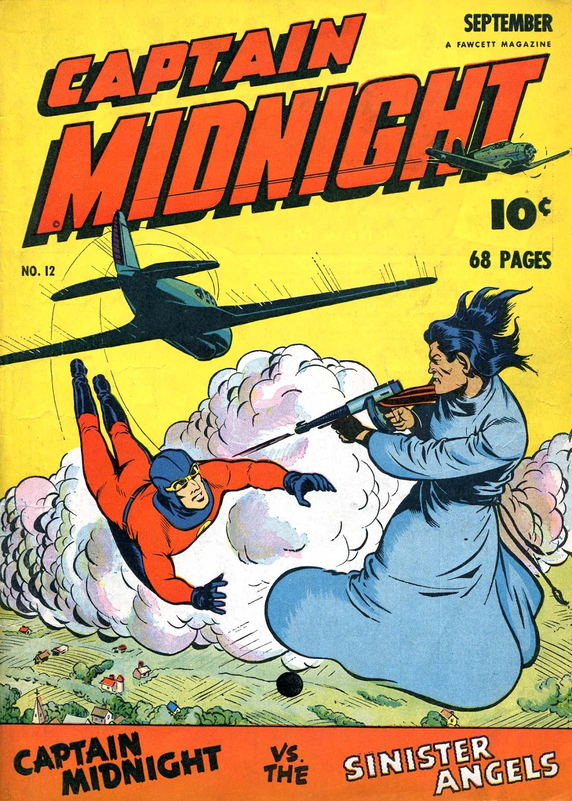 Captain Midnight (1942) 12 Page 1