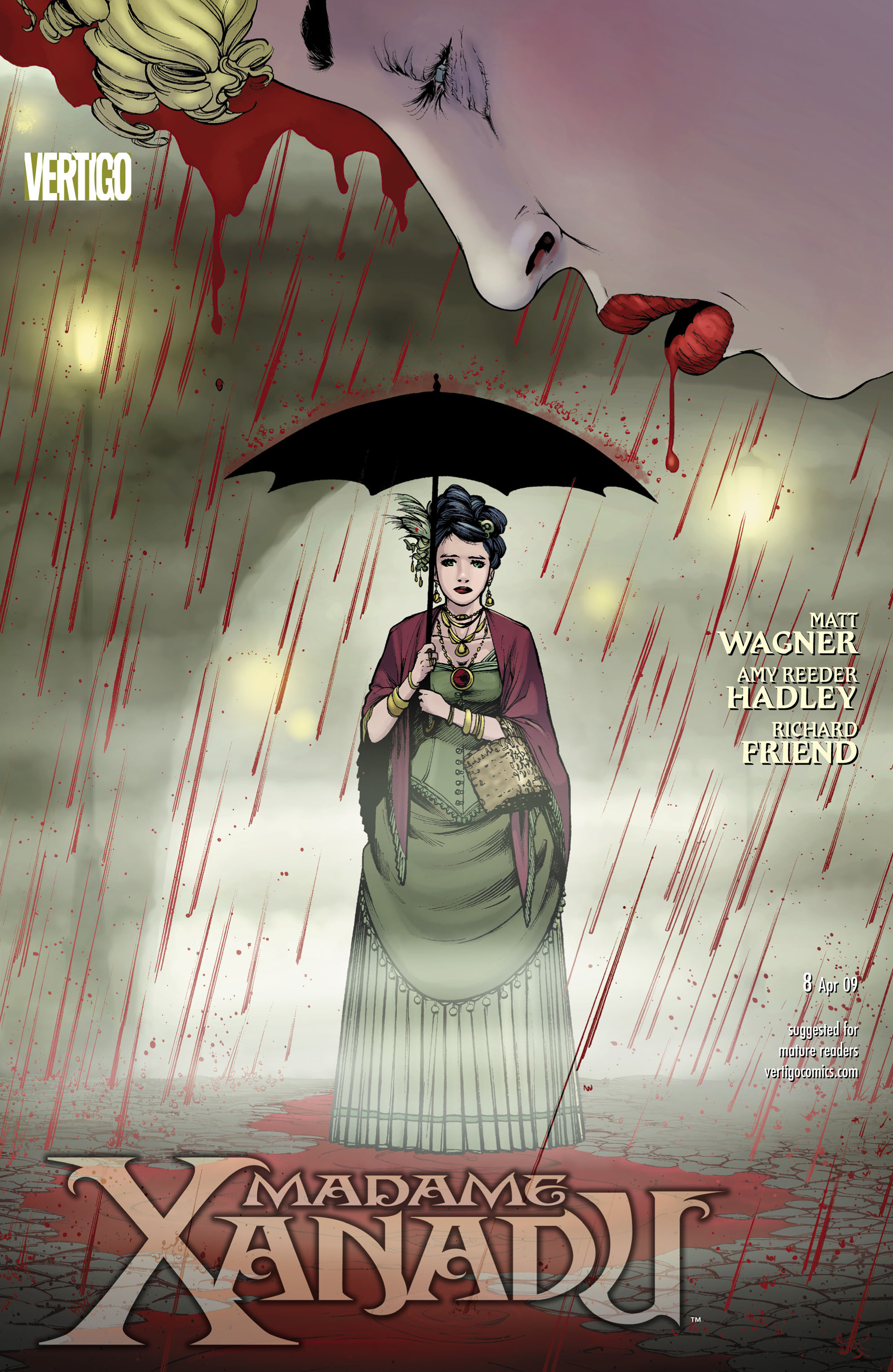 Madame Xanadu issue 8 - Page 1