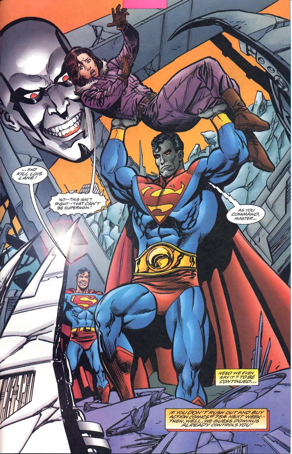 Read online Adventures of Superman (1987) comic -  Issue #567 - 24