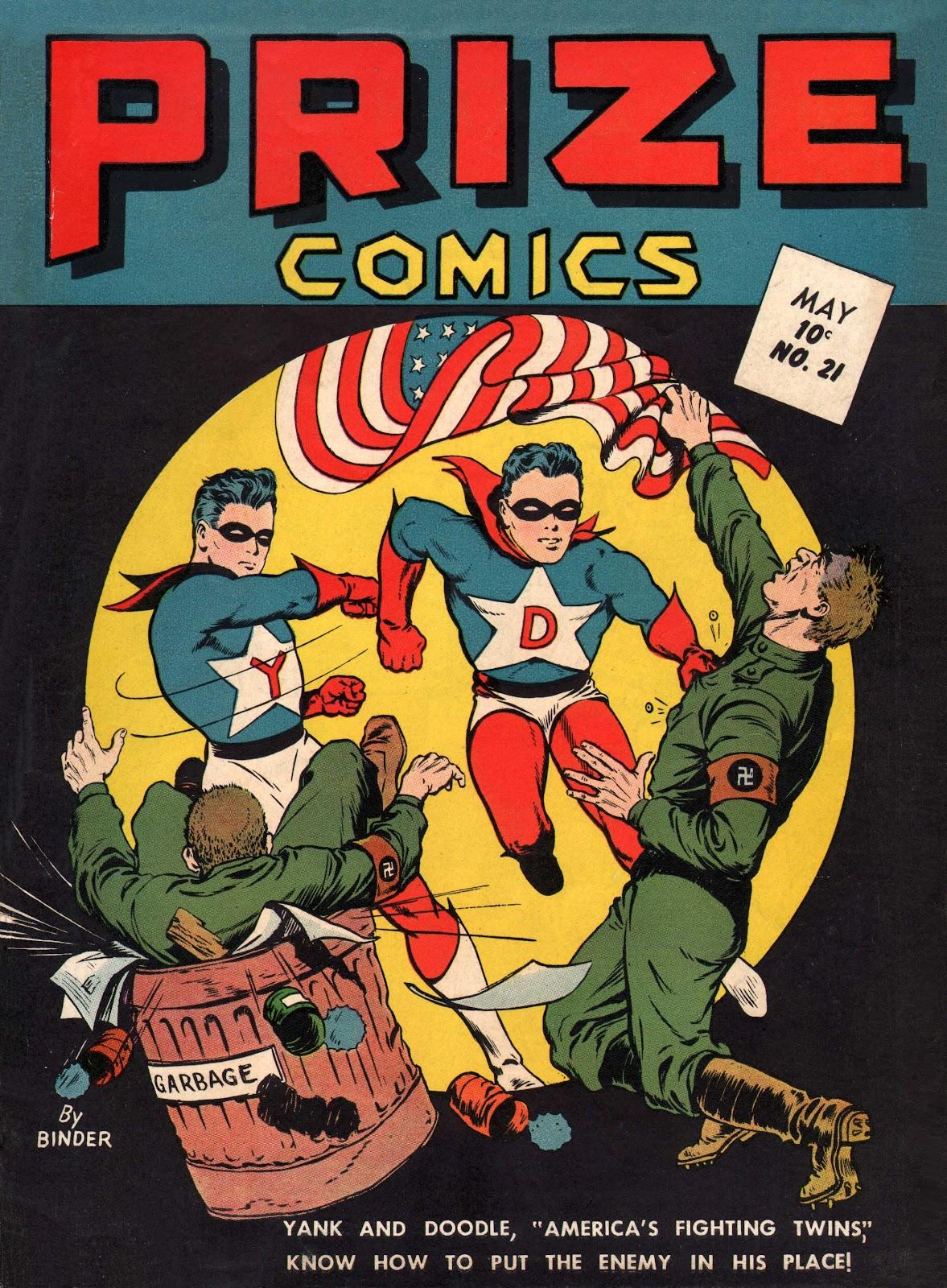 Prize Comics 21 Page 1