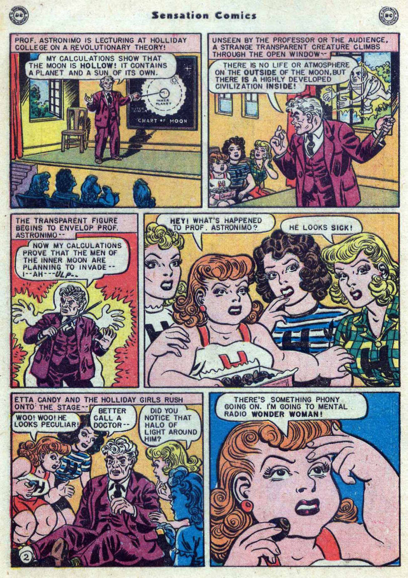 Read online Sensation (Mystery) Comics comic -  Issue #82 - 4