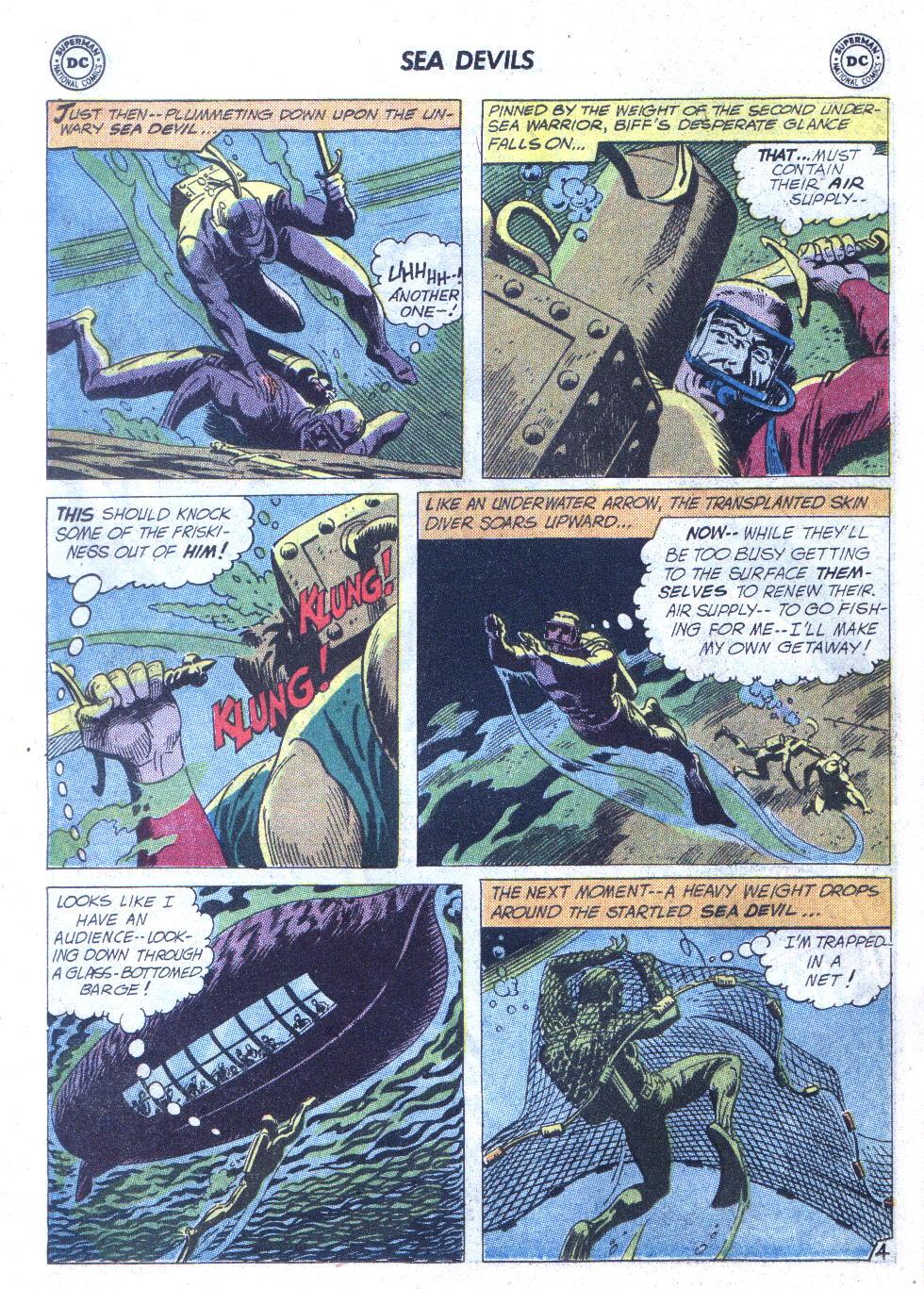 Read online Sea Devils comic -  Issue #6 - 7