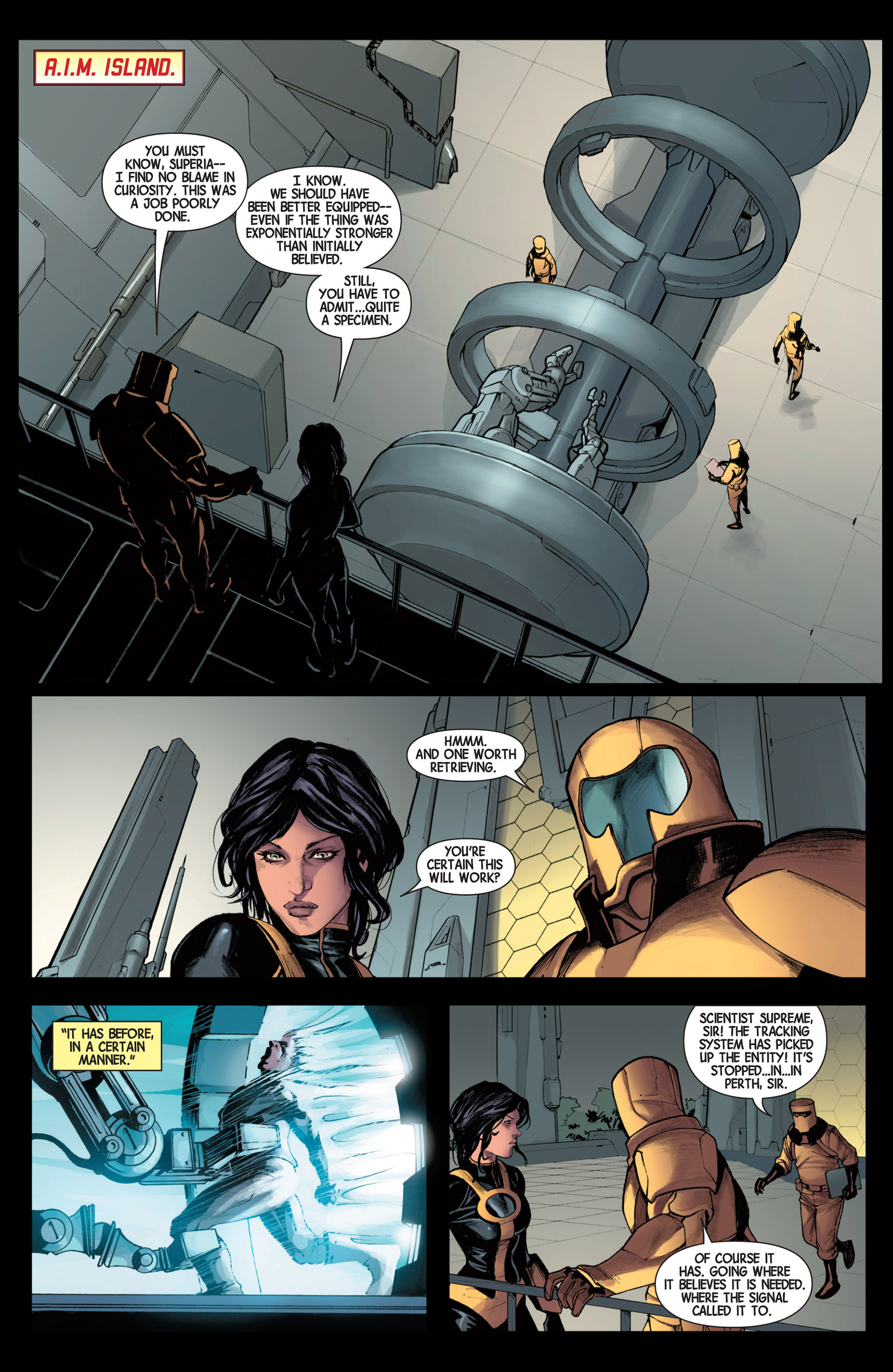 Read online Avengers (2013) comic -  Issue #16 - 22