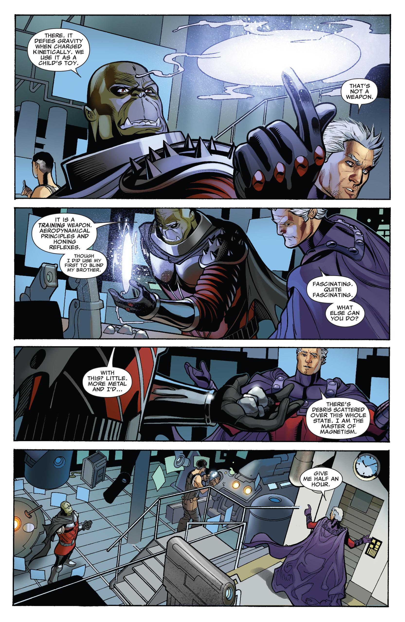 Read online Uncanny X-Men (1963) comic -  Issue #536 - 18