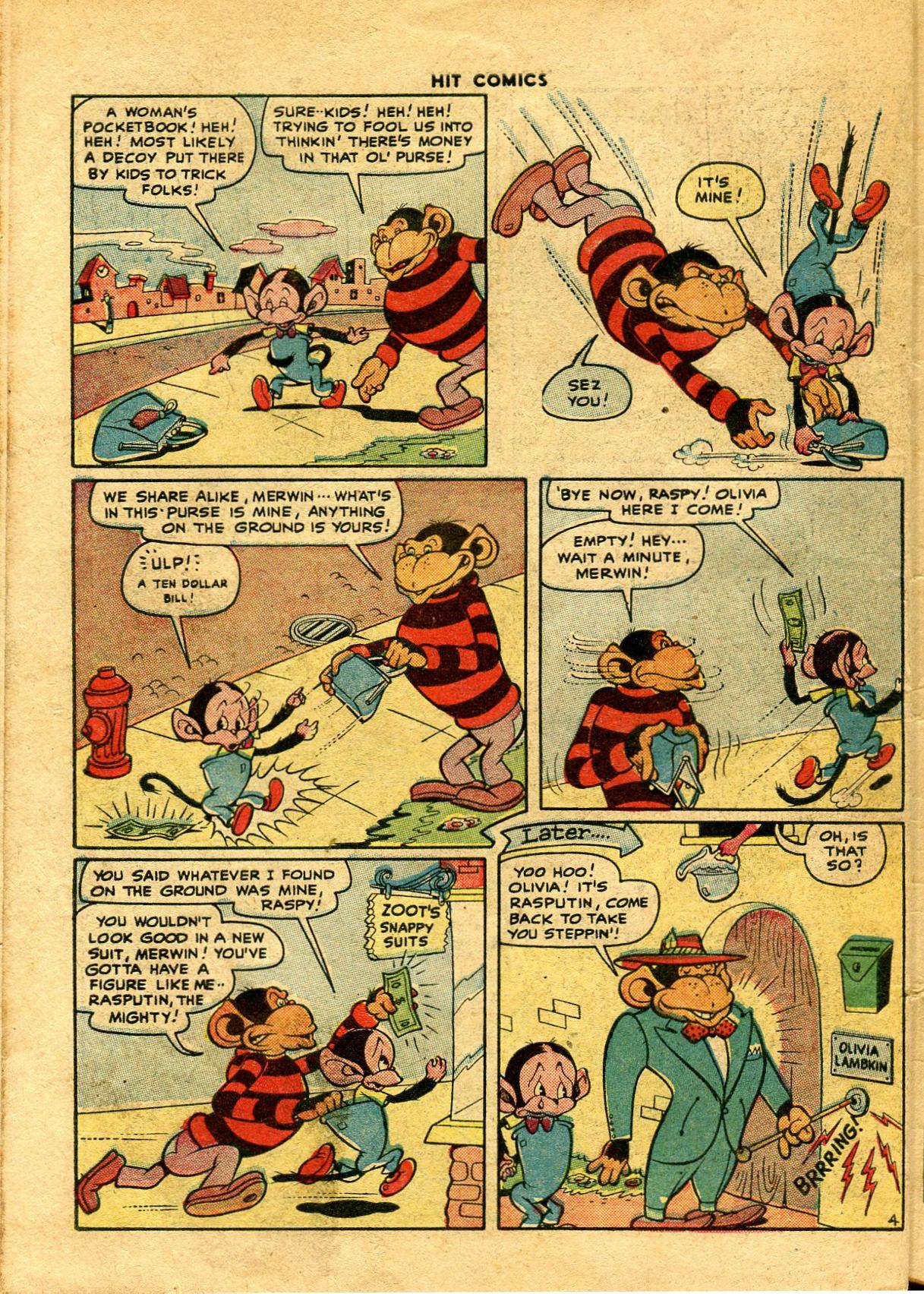 Read online Hit Comics comic -  Issue #48 - 48