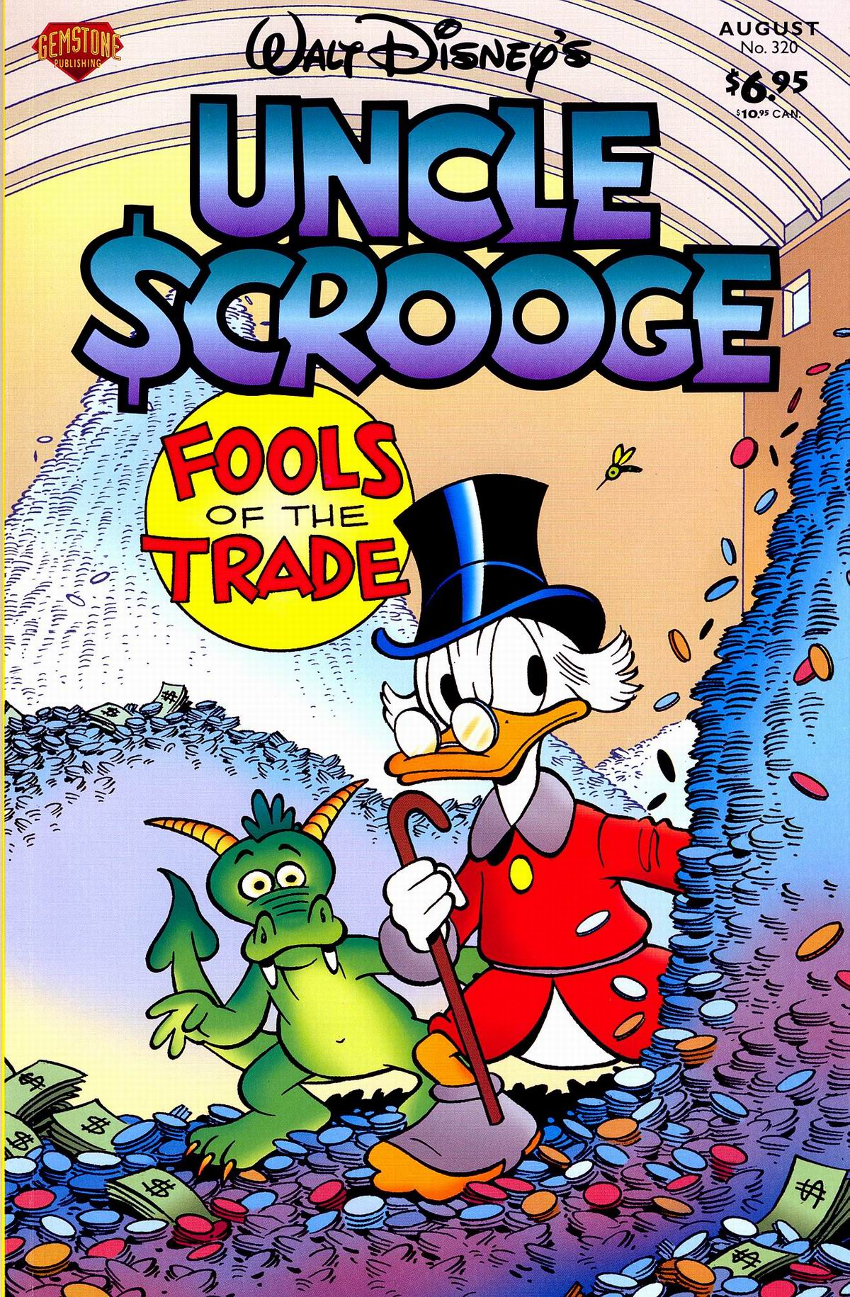 Read online Uncle Scrooge (1953) comic -  Issue #320 - 1