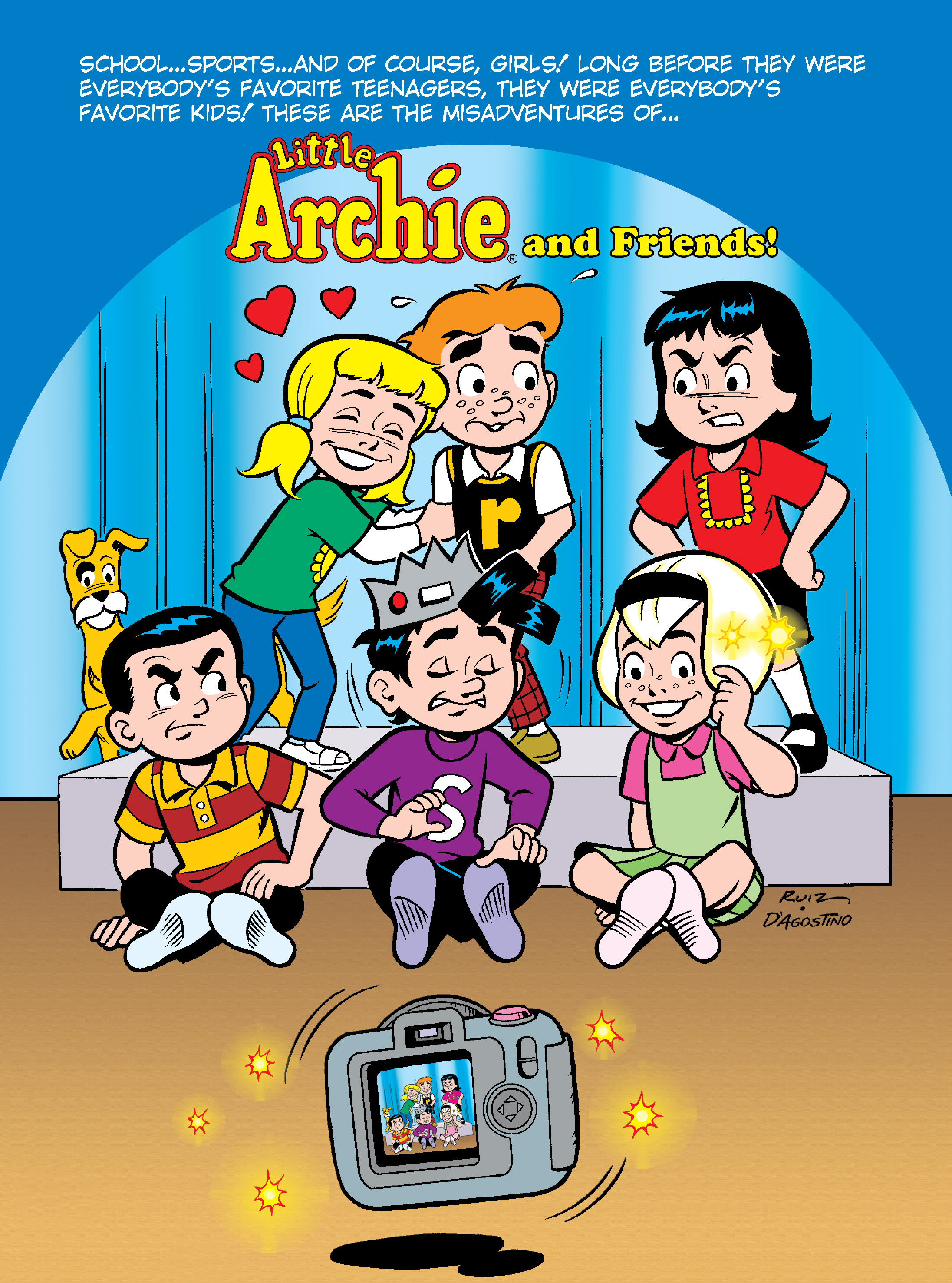 Read online Archie's Funhouse Double Digest comic -  Issue #12 - 127