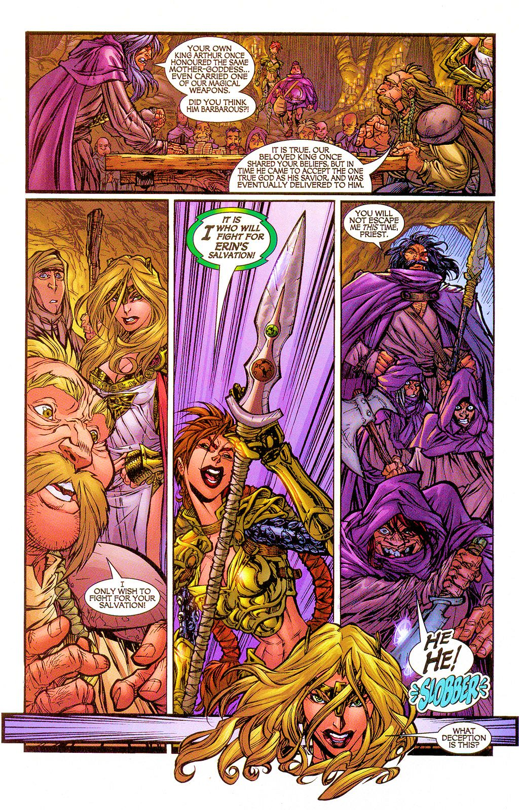 Read online Lady Pendragon / More Than Mortal comic -  Issue #1 - 7