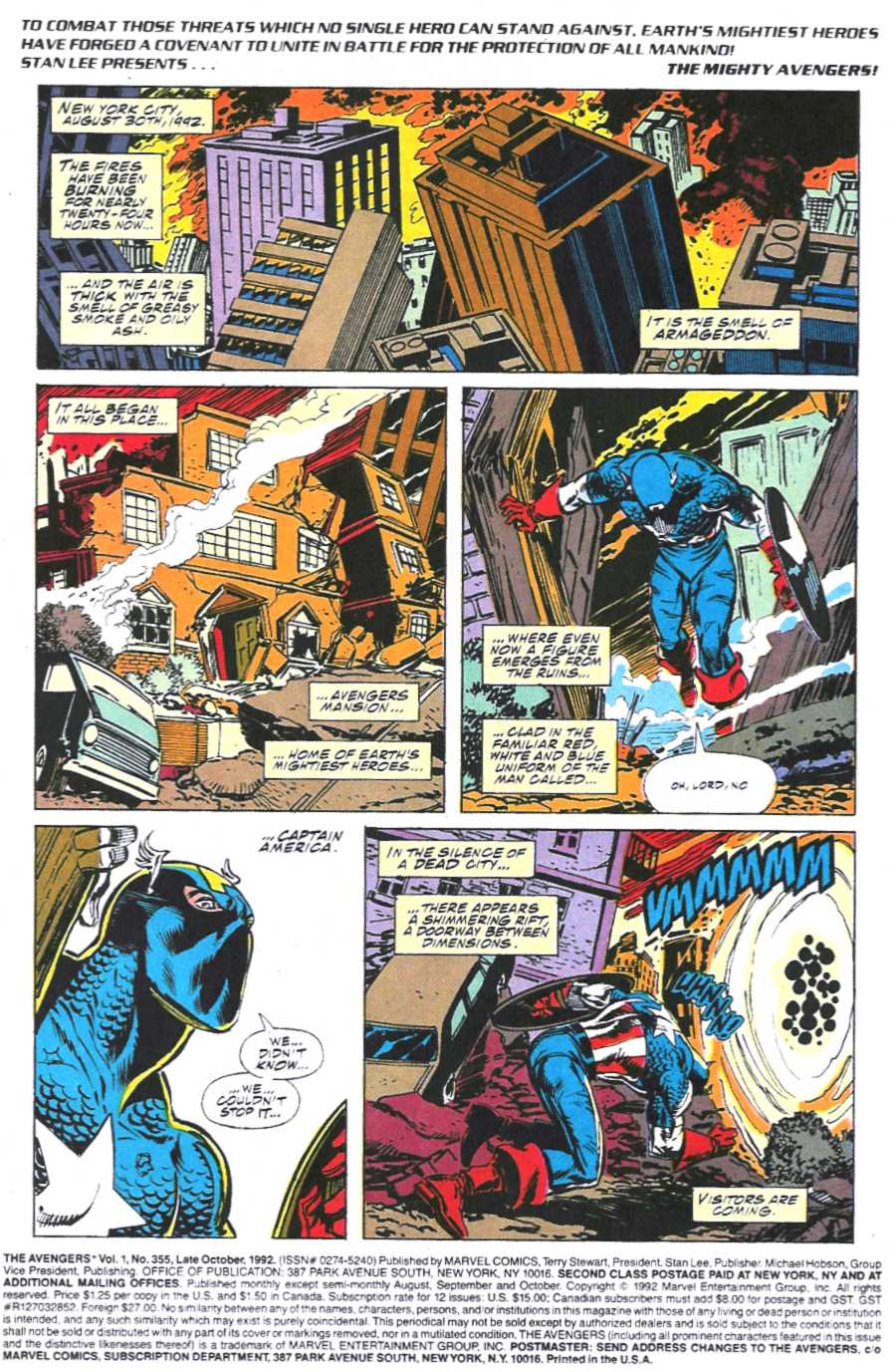 The Avengers (1963) 355 Page 1
