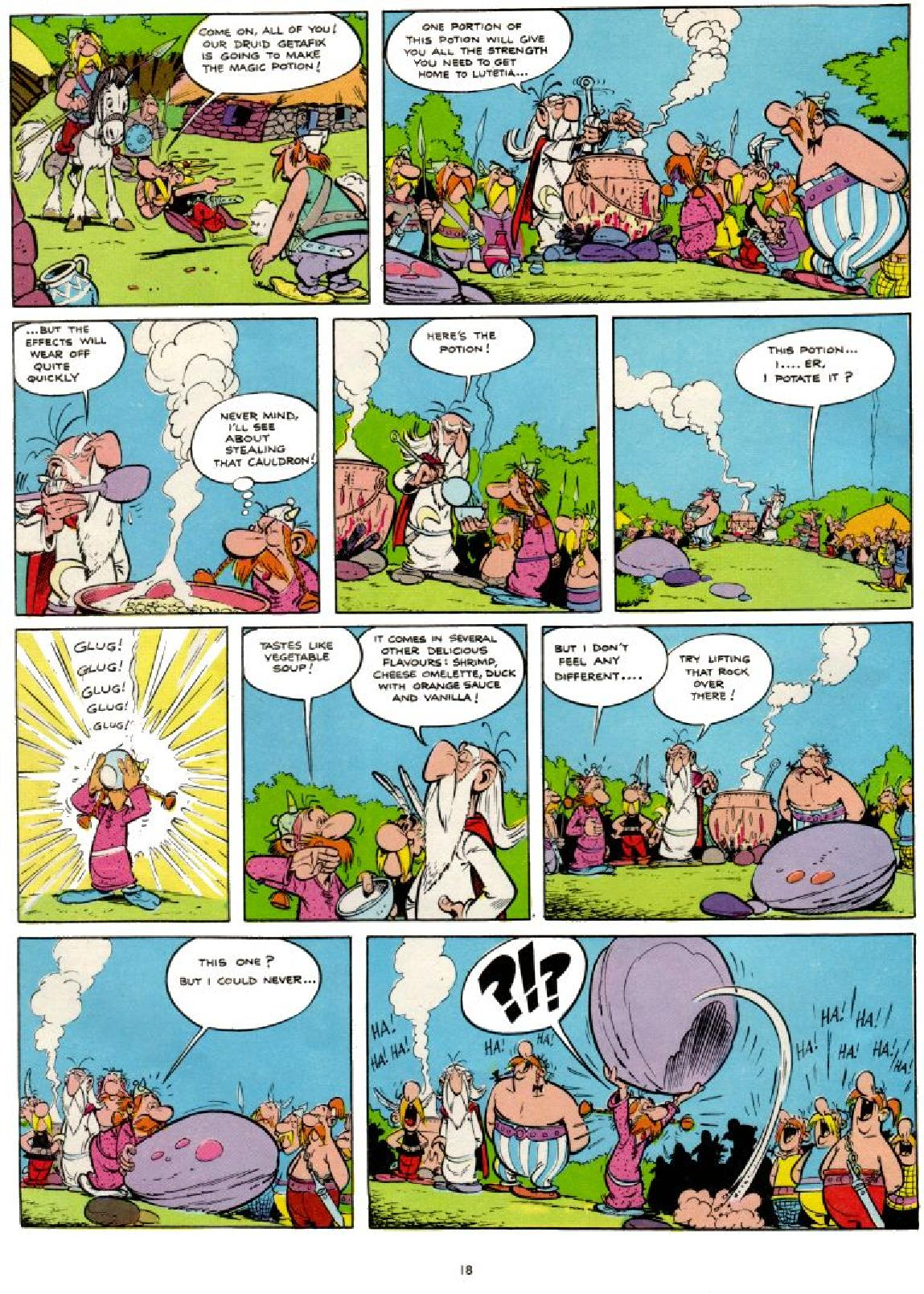 Read online Asterix comic -  Issue #1 - 18