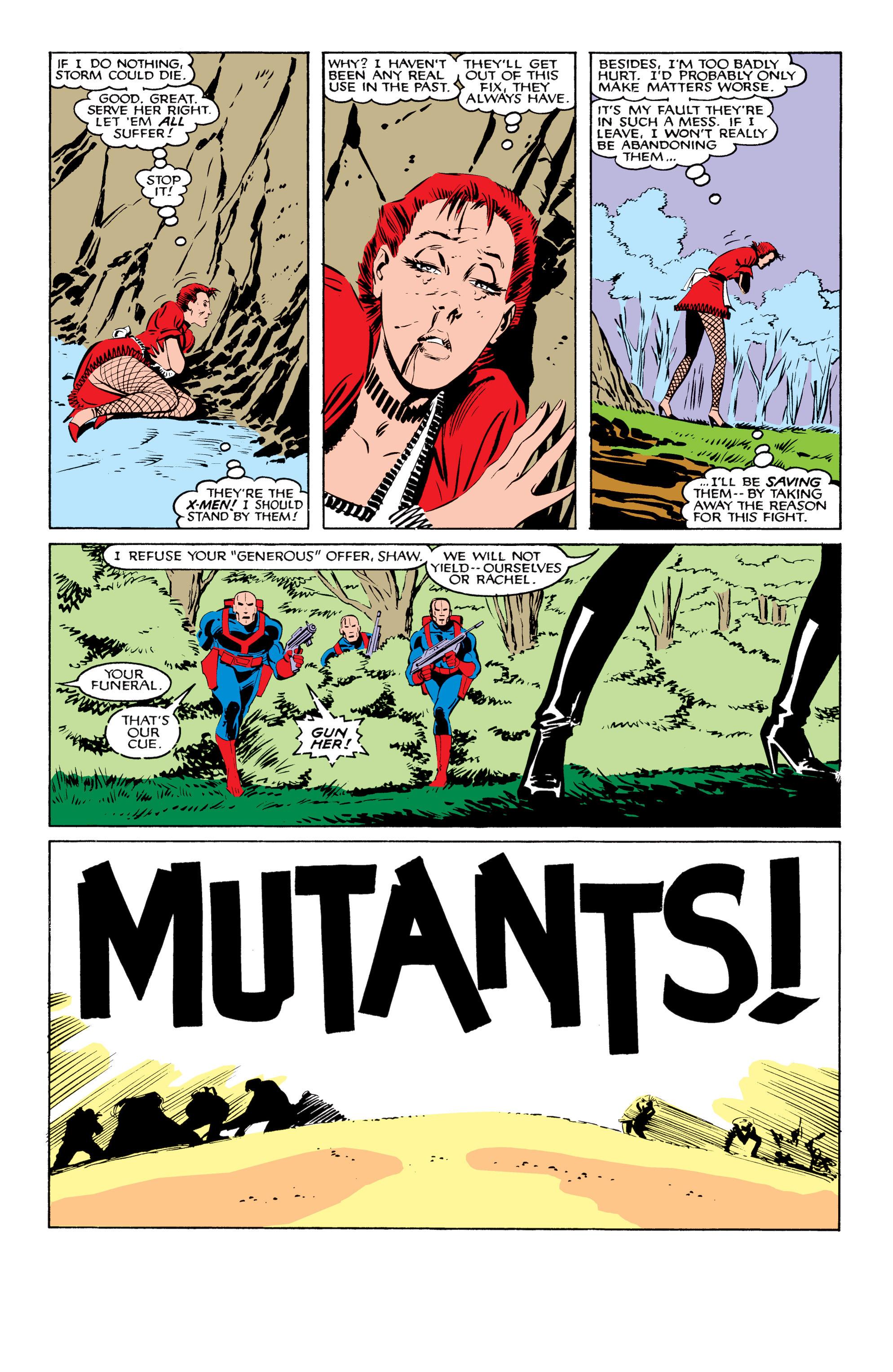 Read online Uncanny X-Men (1963) comic -  Issue #208 - 22