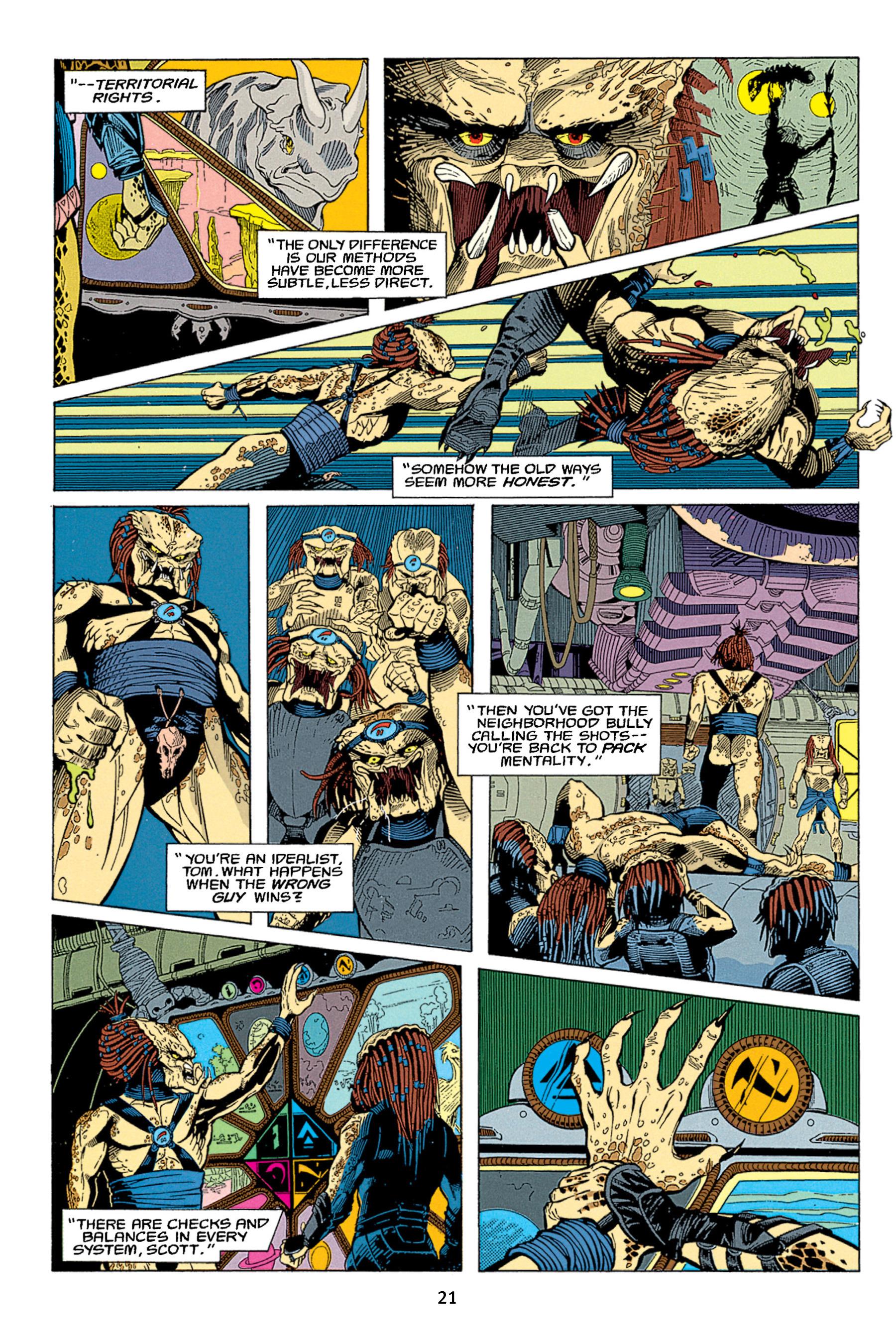Read online Aliens vs. Predator Omnibus comic -  Issue # _TPB 1 Part 1 - 21