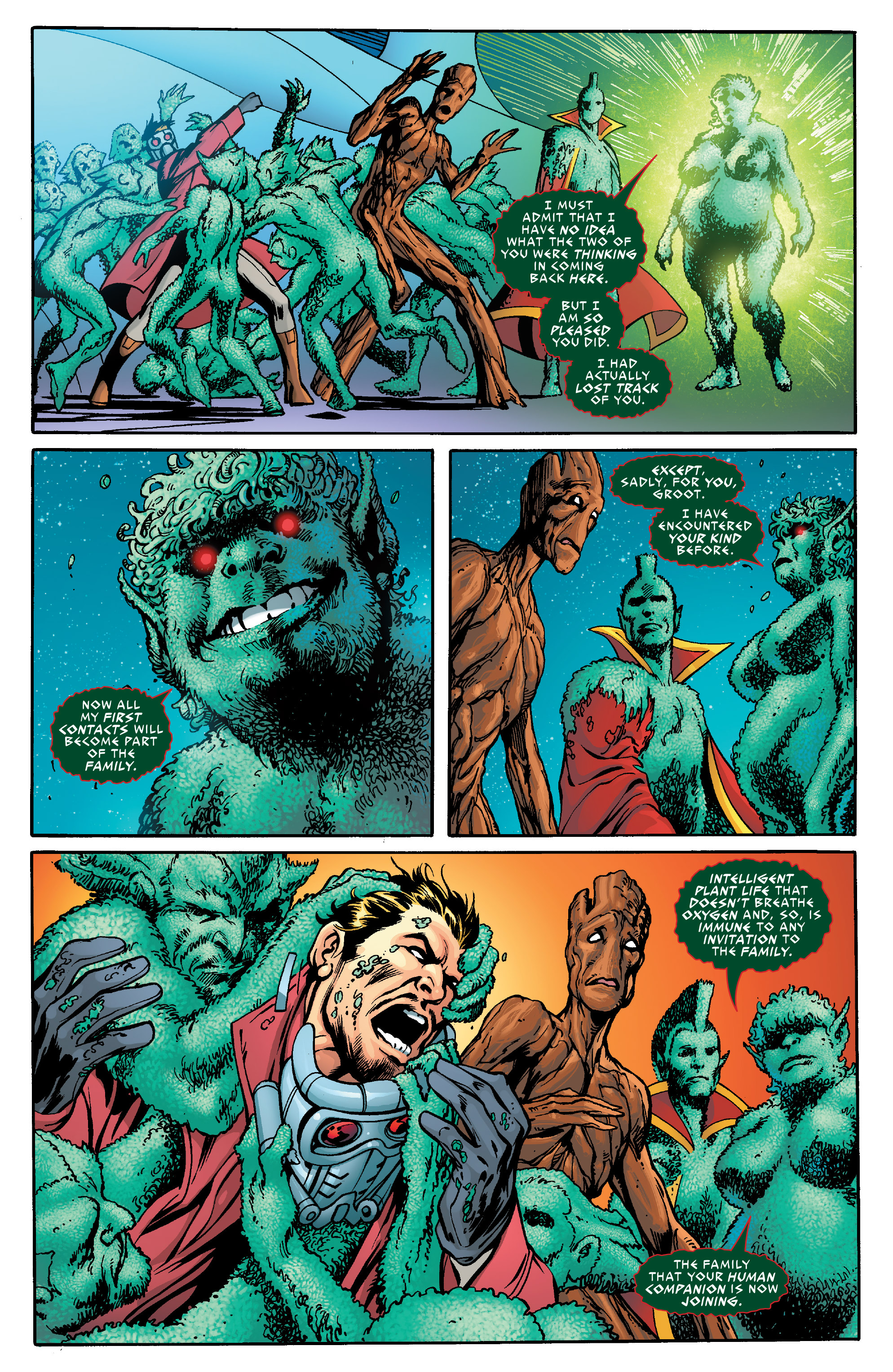 Read online Guardians of the Galaxy: Mother Entropy comic -  Issue #5 - 7