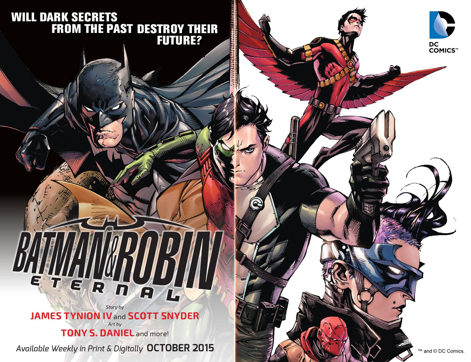 Read online Arrow: The Dark Archer comic -  Issue #3 - 23