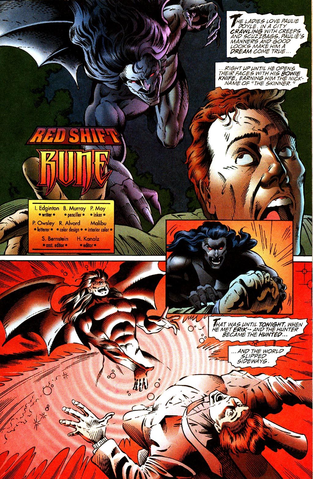 Read online Rune (1995) comic -  Issue #2 - 28