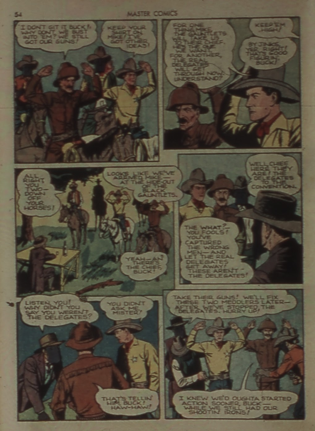 Master Comics issue 31 - Page 54