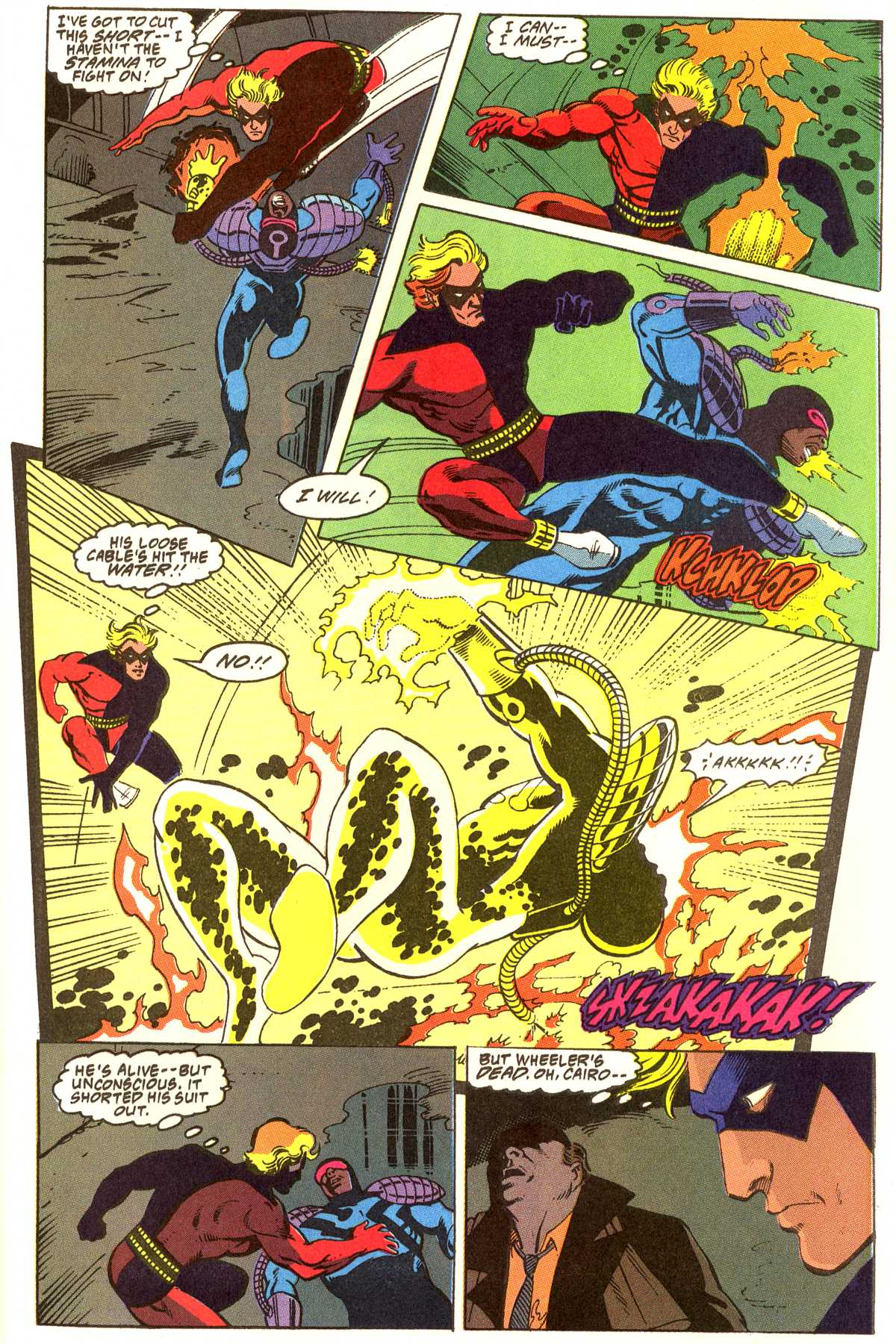 Read online Peter Cannon--Thunderbolt (1992) comic -  Issue #12 - 17