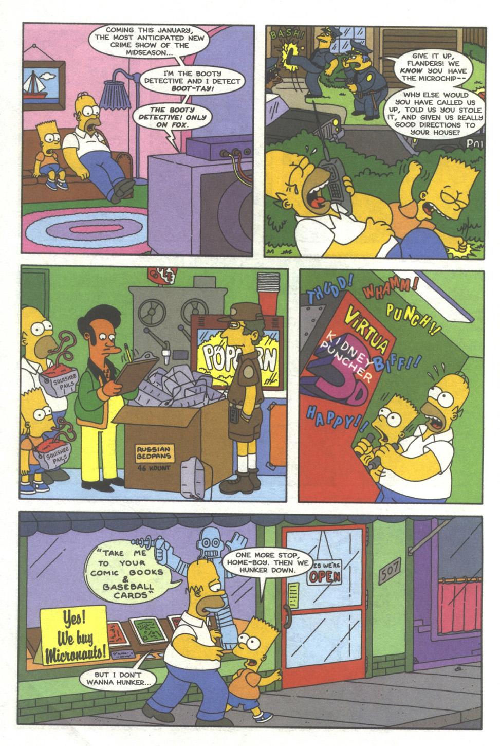 Read online Simpsons Comics comic -  Issue #39 - 5