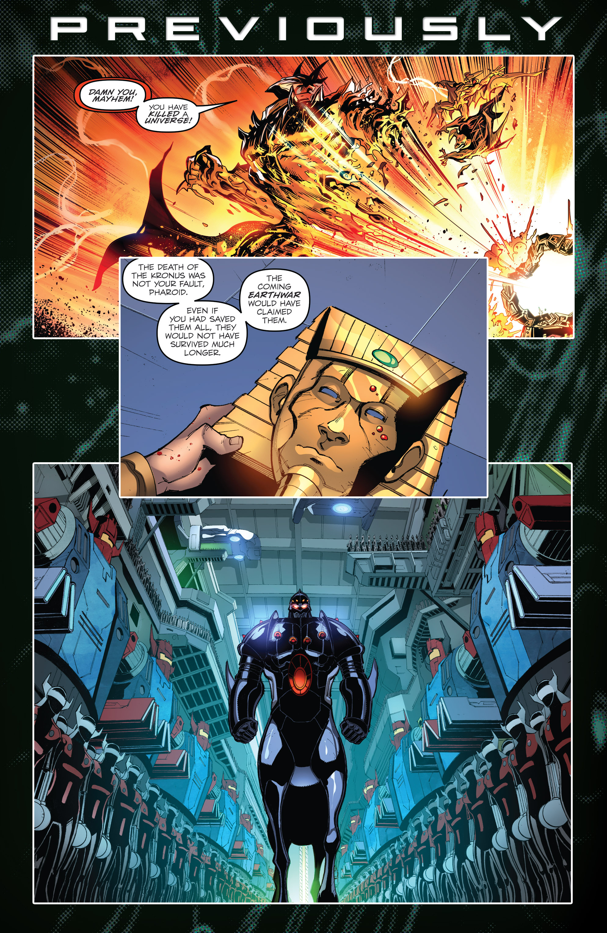 Read online Micronauts: Wrath of Karza comic -  Issue #1 - 3