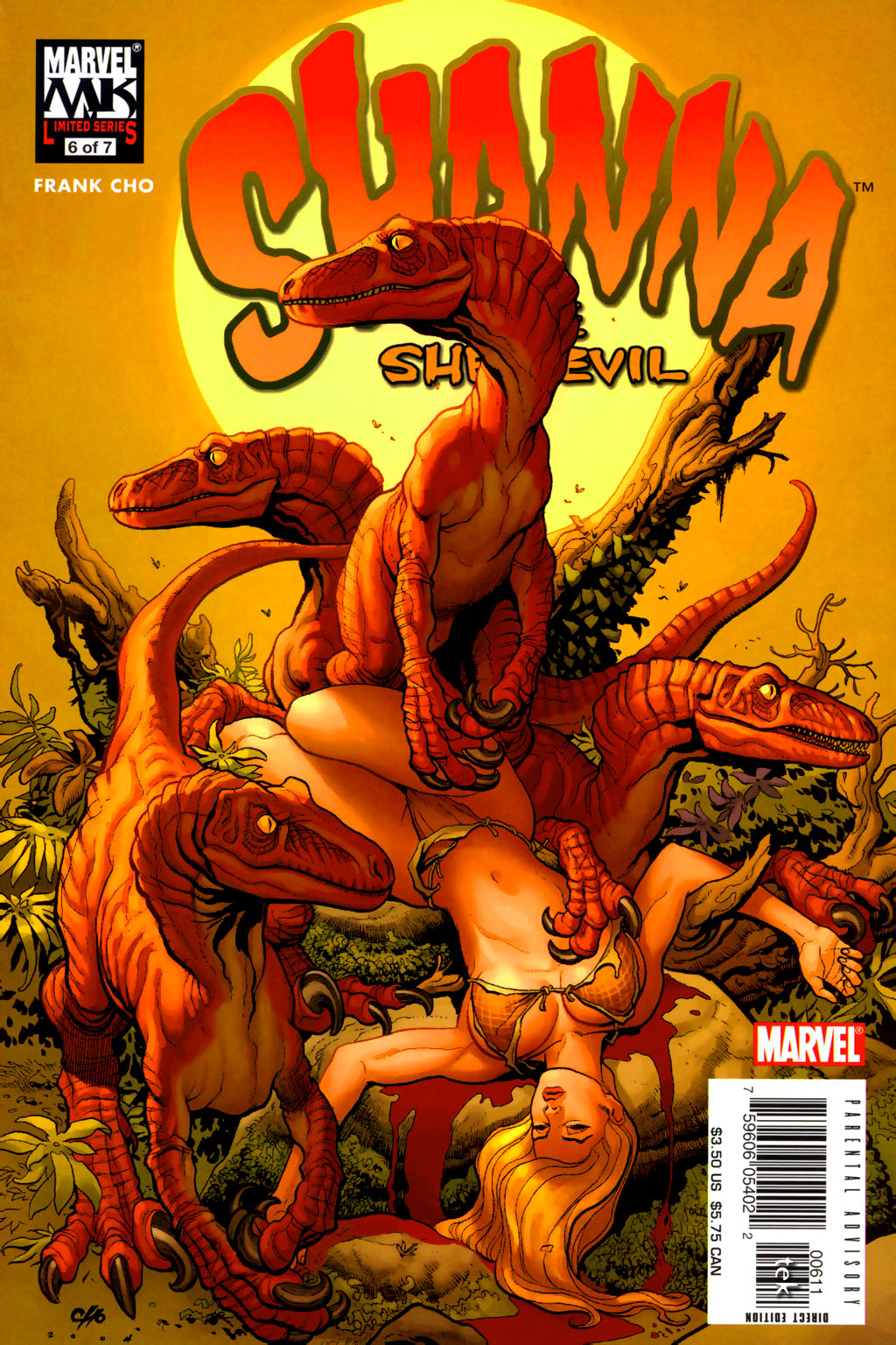 Read online Shanna, the She-Devil (2005) comic -  Issue #6 - 1