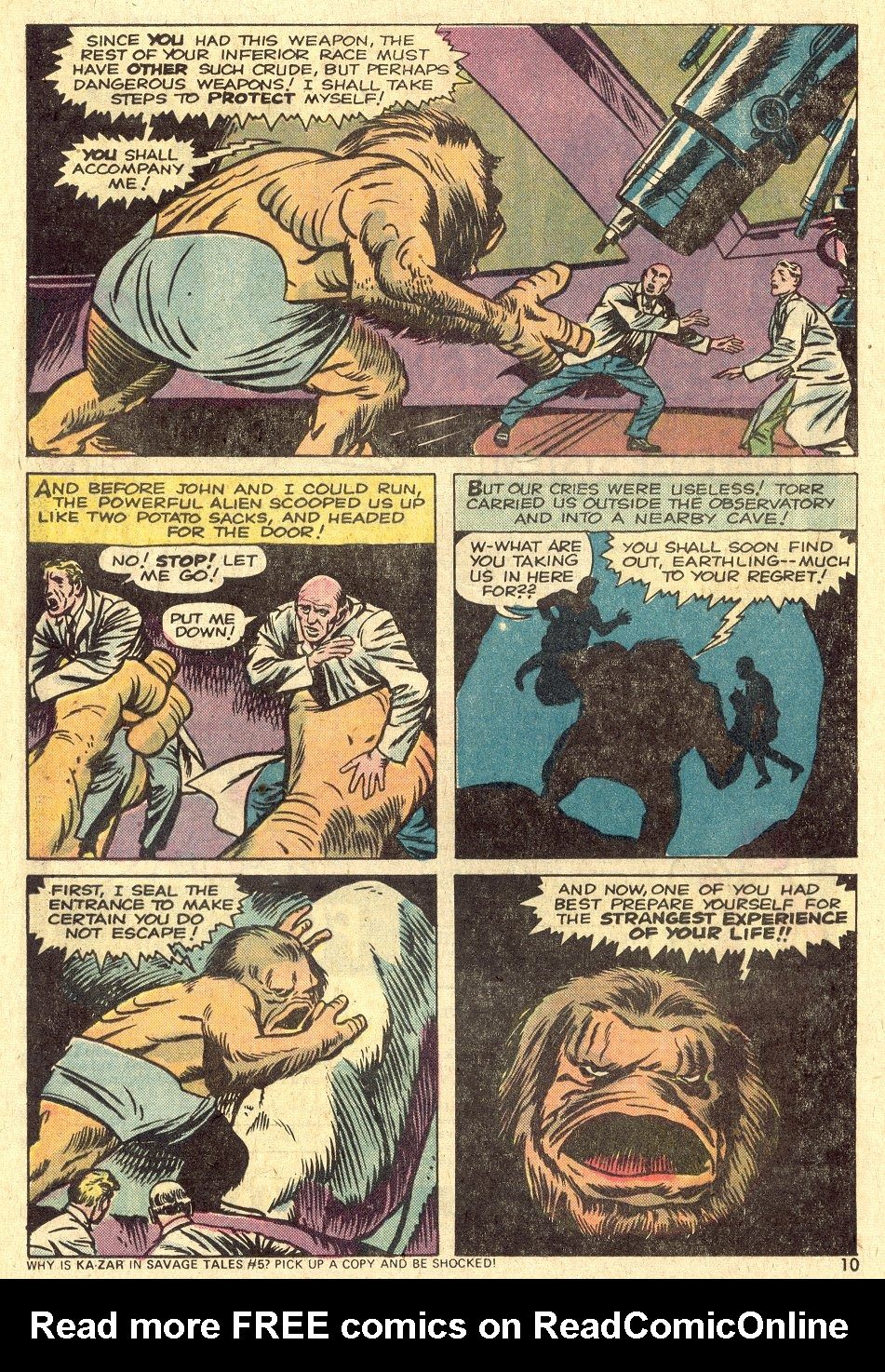 Strange Tales (1951) issue 175 - Page 7