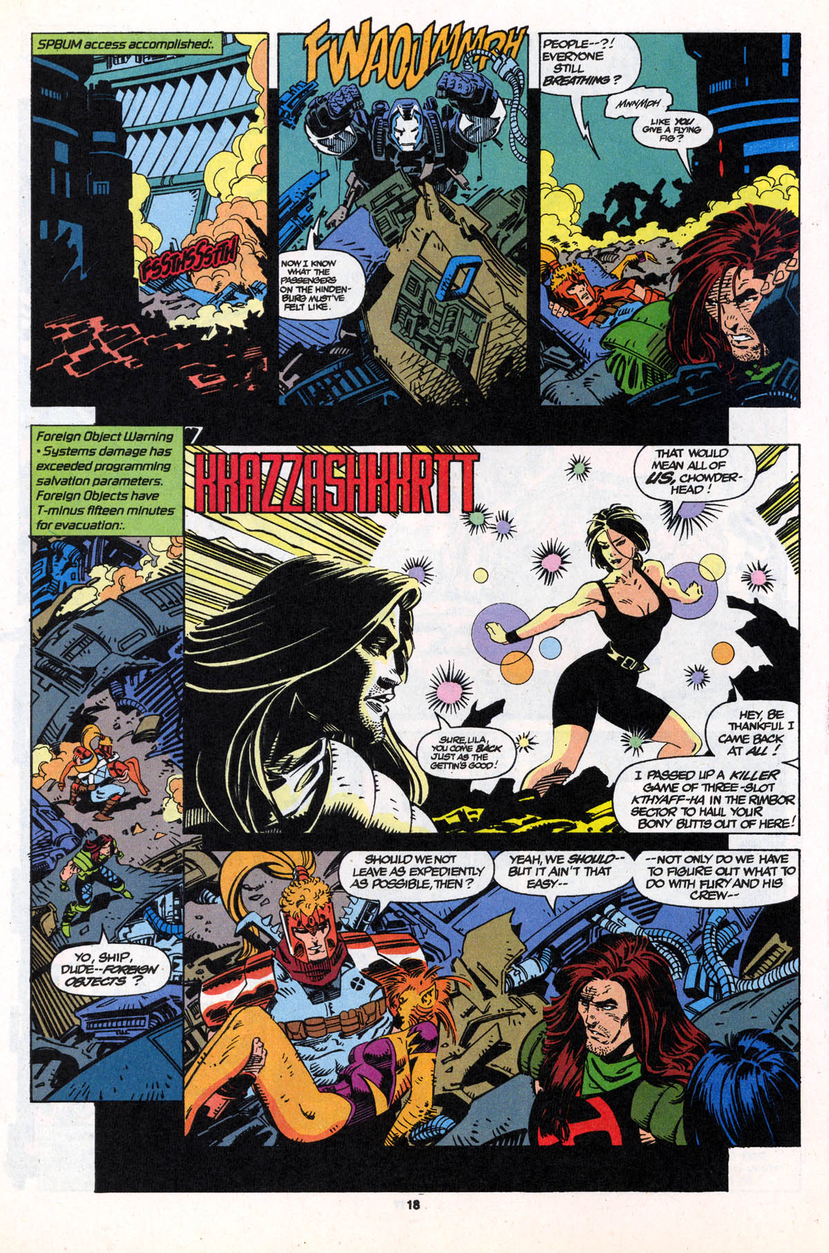 Read online X-Force (1991) comic -  Issue #21 - 19