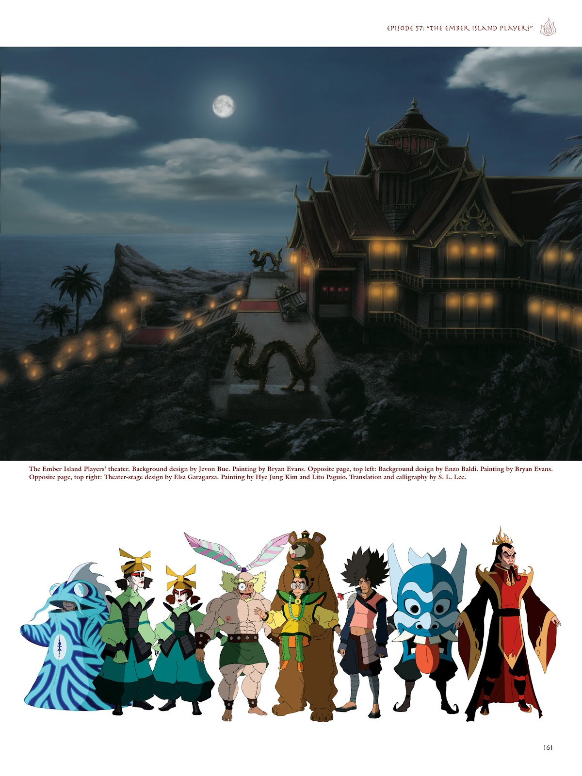 Read online Avatar: The Last Airbender - The Art of the Animated Series comic -  Issue # TPB (Part 2) - 58