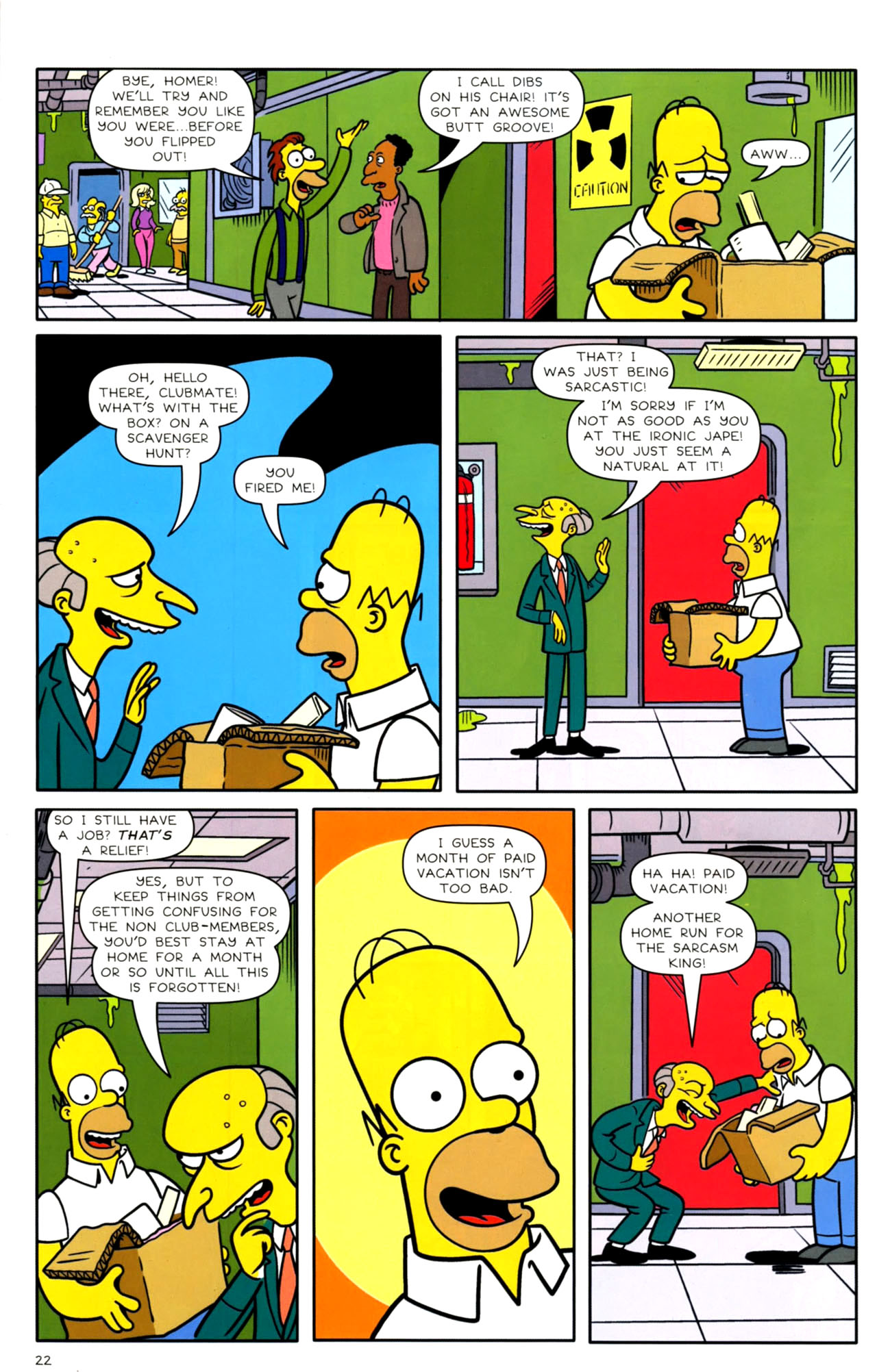 Read online Bongo Comics presents Comic Book Guy: The Comic Book comic -  Issue #4 - 24