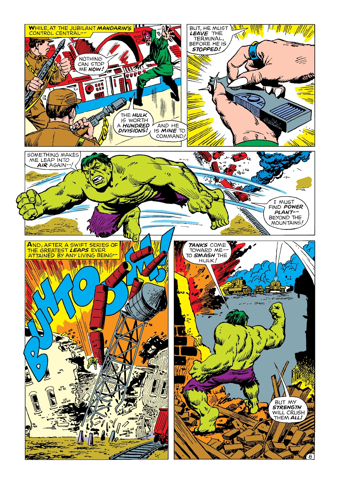 Read online Marvel Masterworks: The Incredible Hulk comic -  Issue # TPB 4 (Part 2) - 20