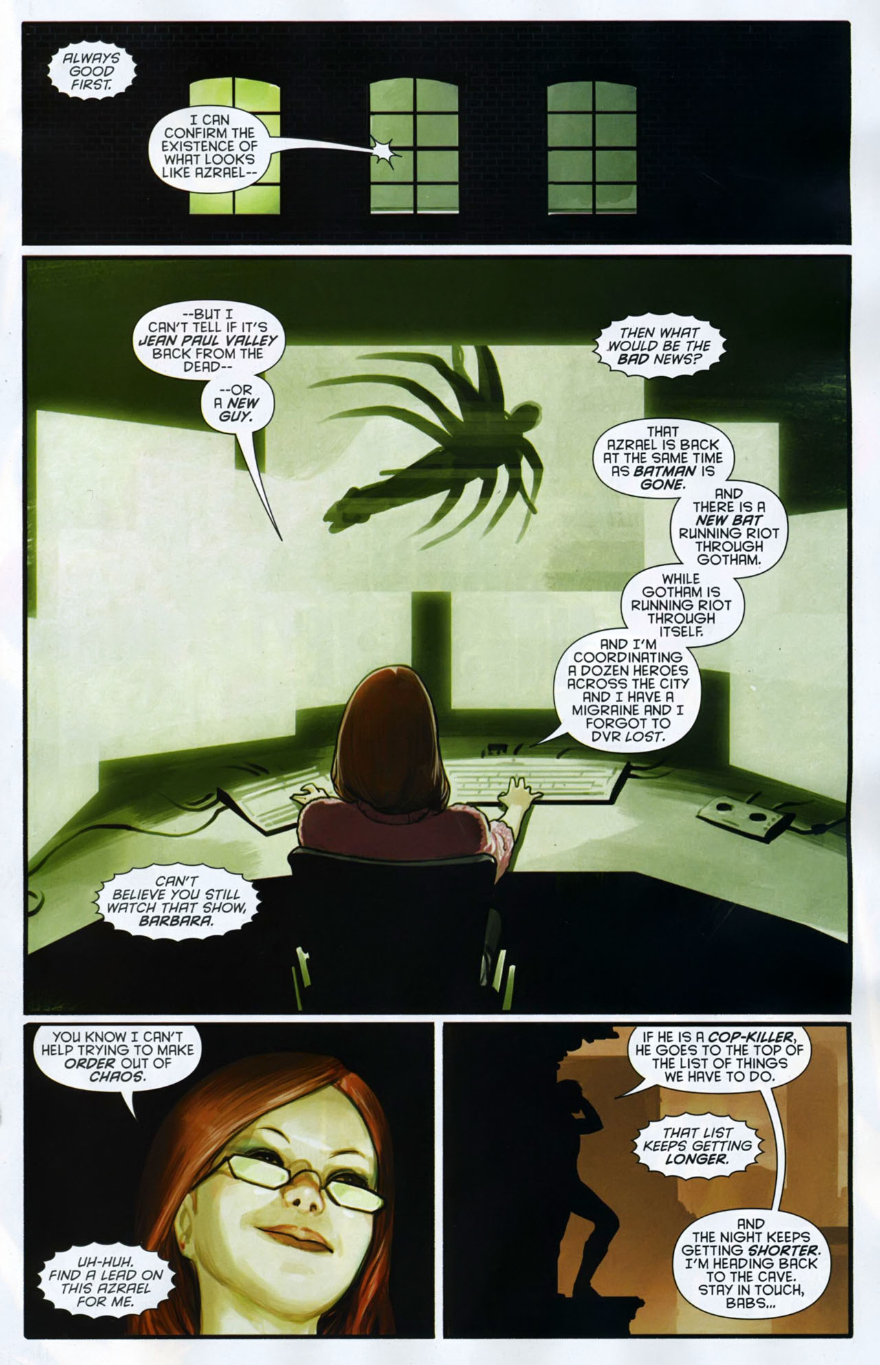 Read online Azrael: Death's Dark Knight comic -  Issue #2 - 18