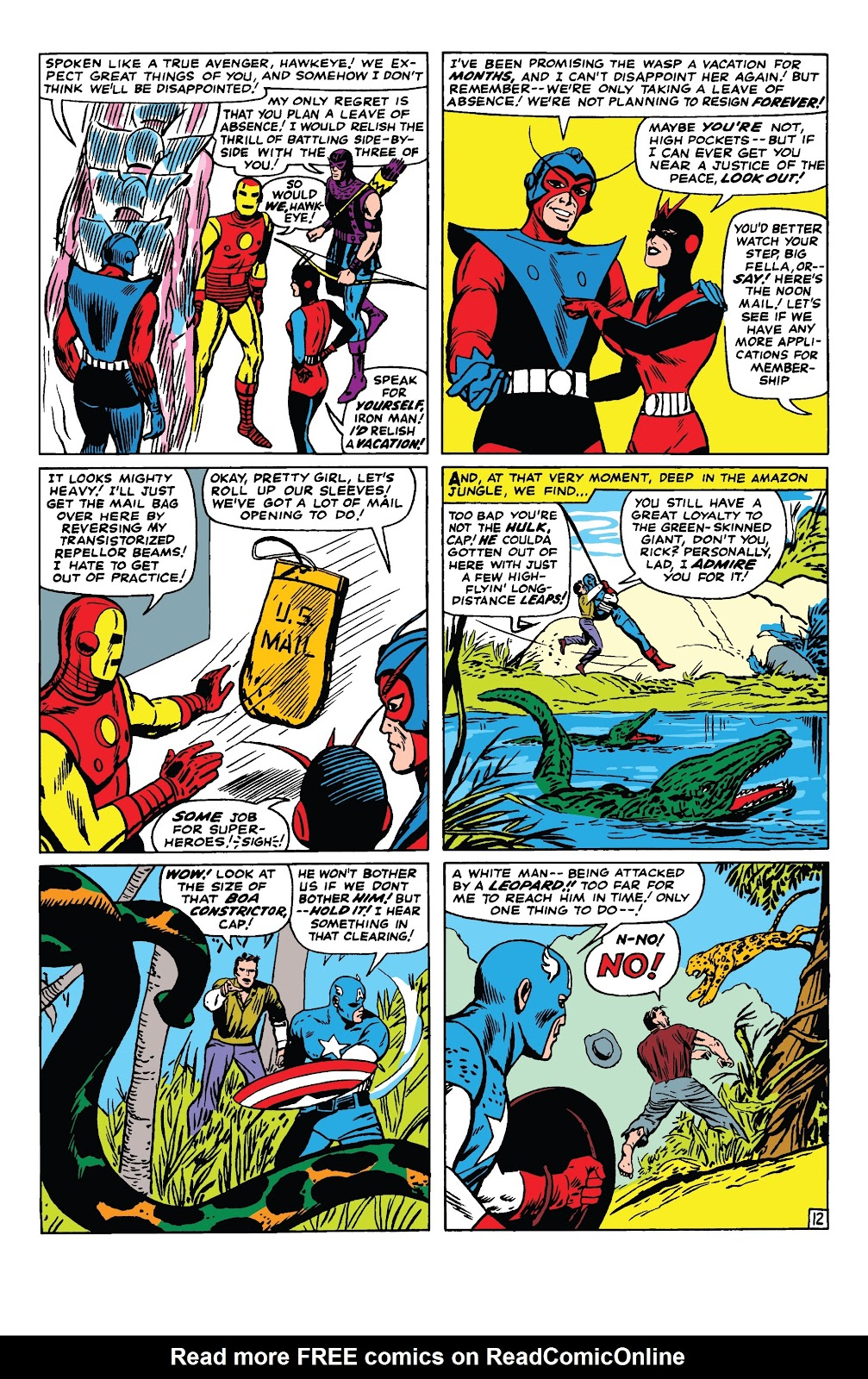 Read online Marvel Tales: Avengers comic -  Issue # Full - 17