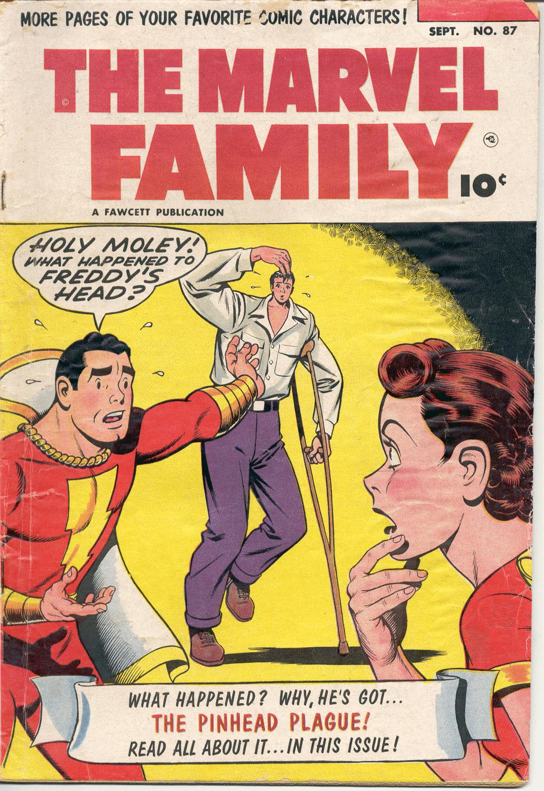 The Marvel Family 87 Page 1
