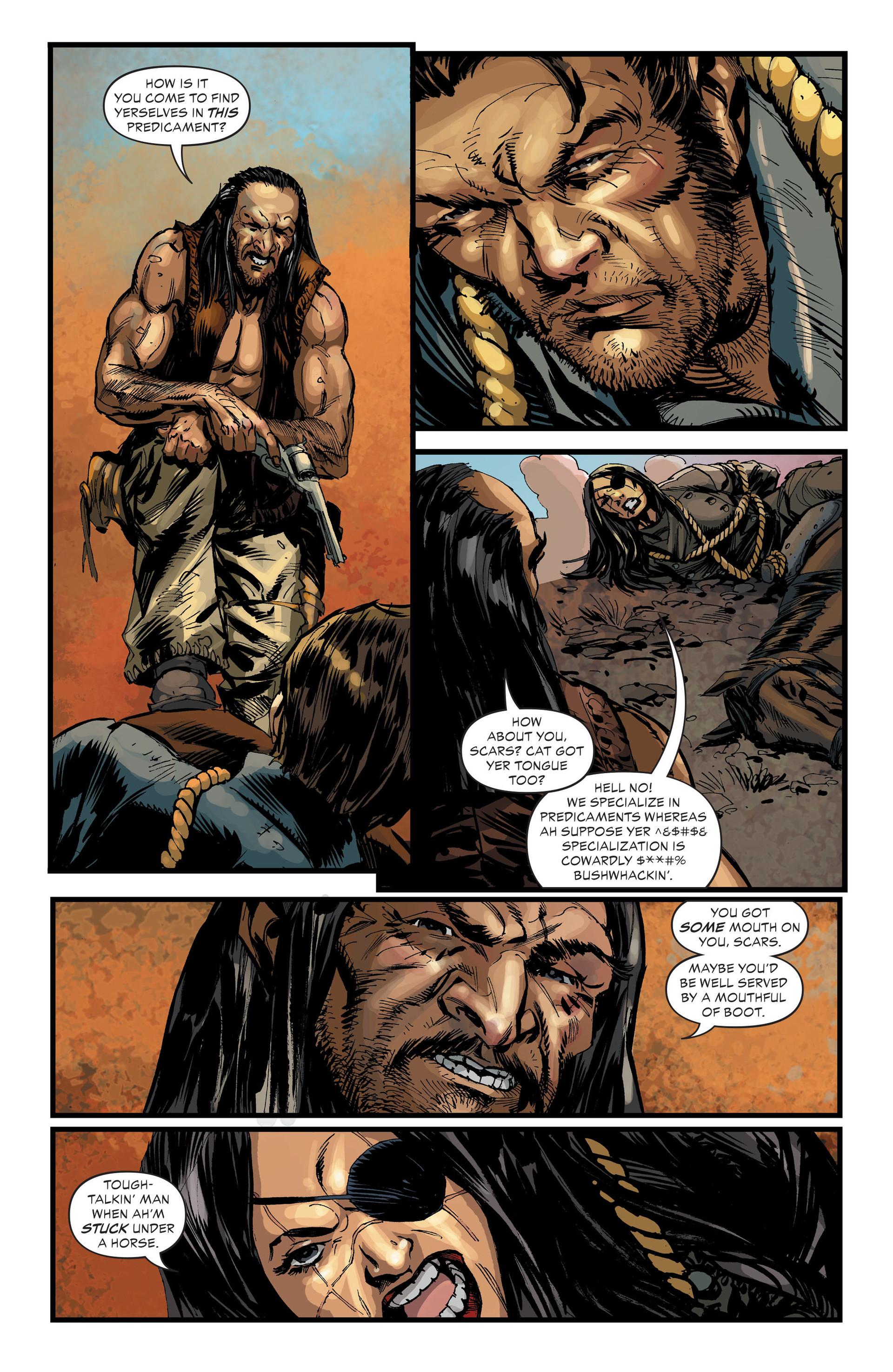 Read online All-Star Western (2011) comic -  Issue #33 - 3