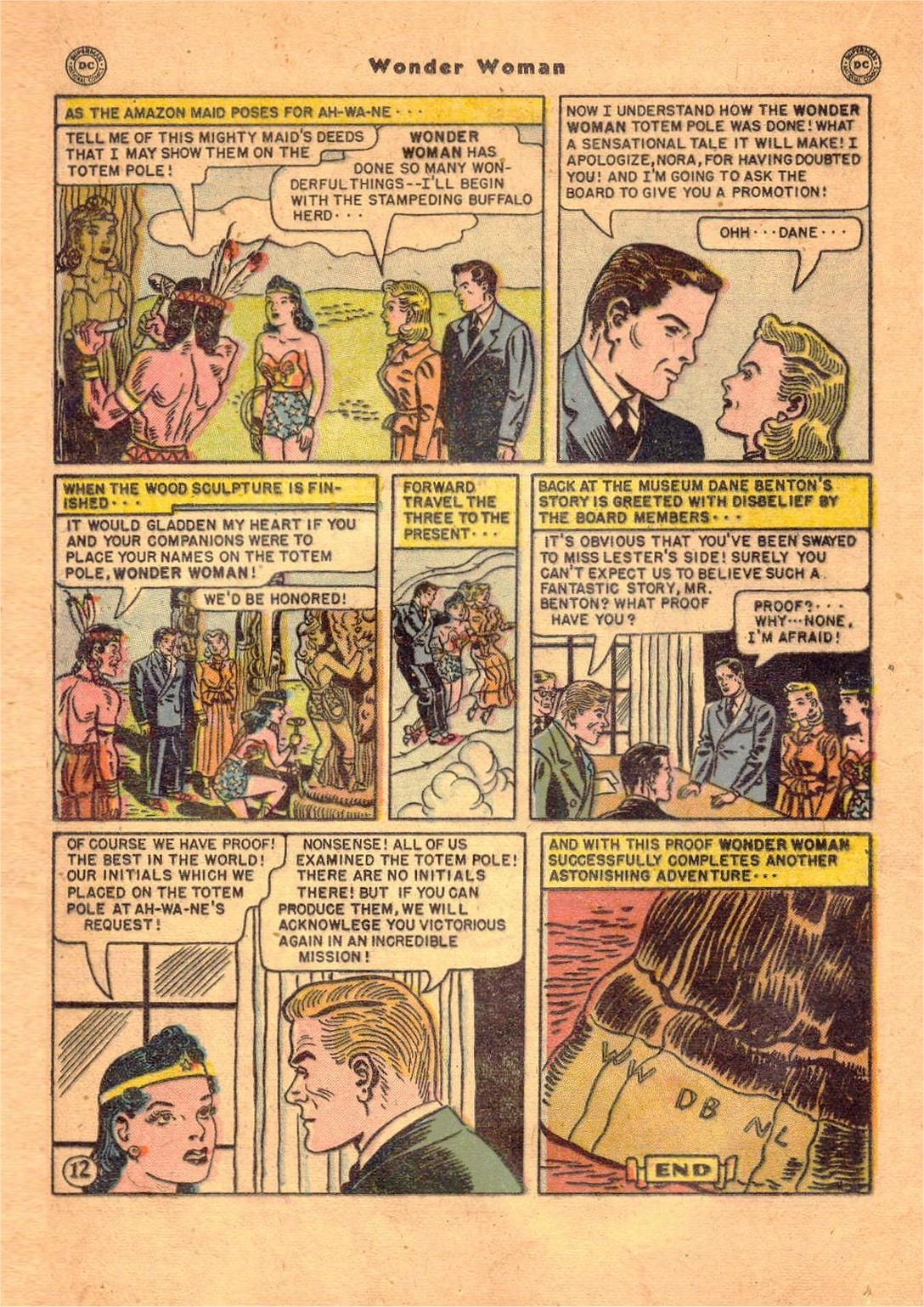 Read online Wonder Woman (1942) comic -  Issue #47 - 29