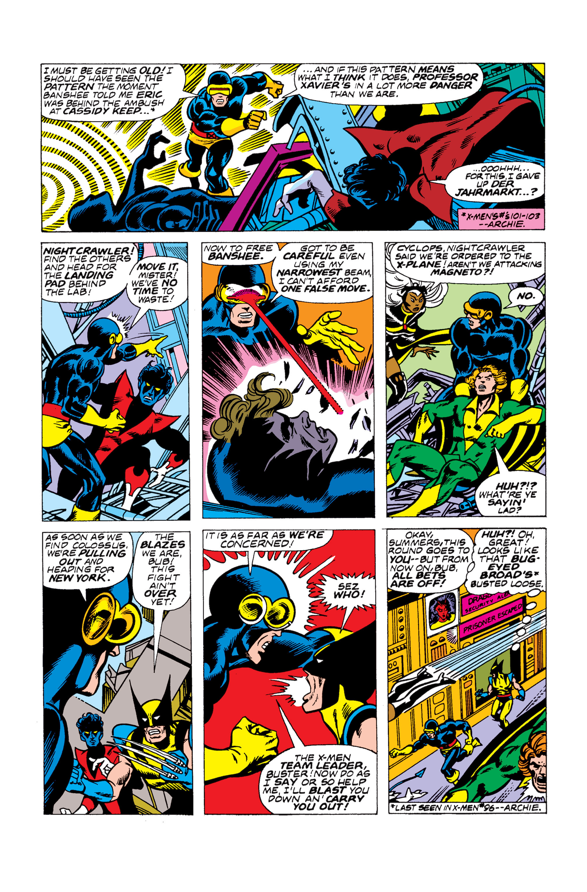 Read online Uncanny X-Men (1963) comic -  Issue #104 - 15