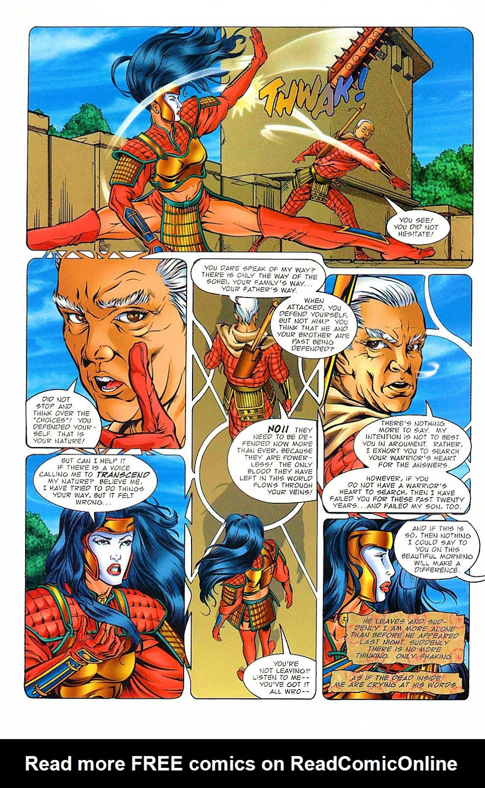 Shi: The Way of the Warrior Issue #8 #8 - English 8