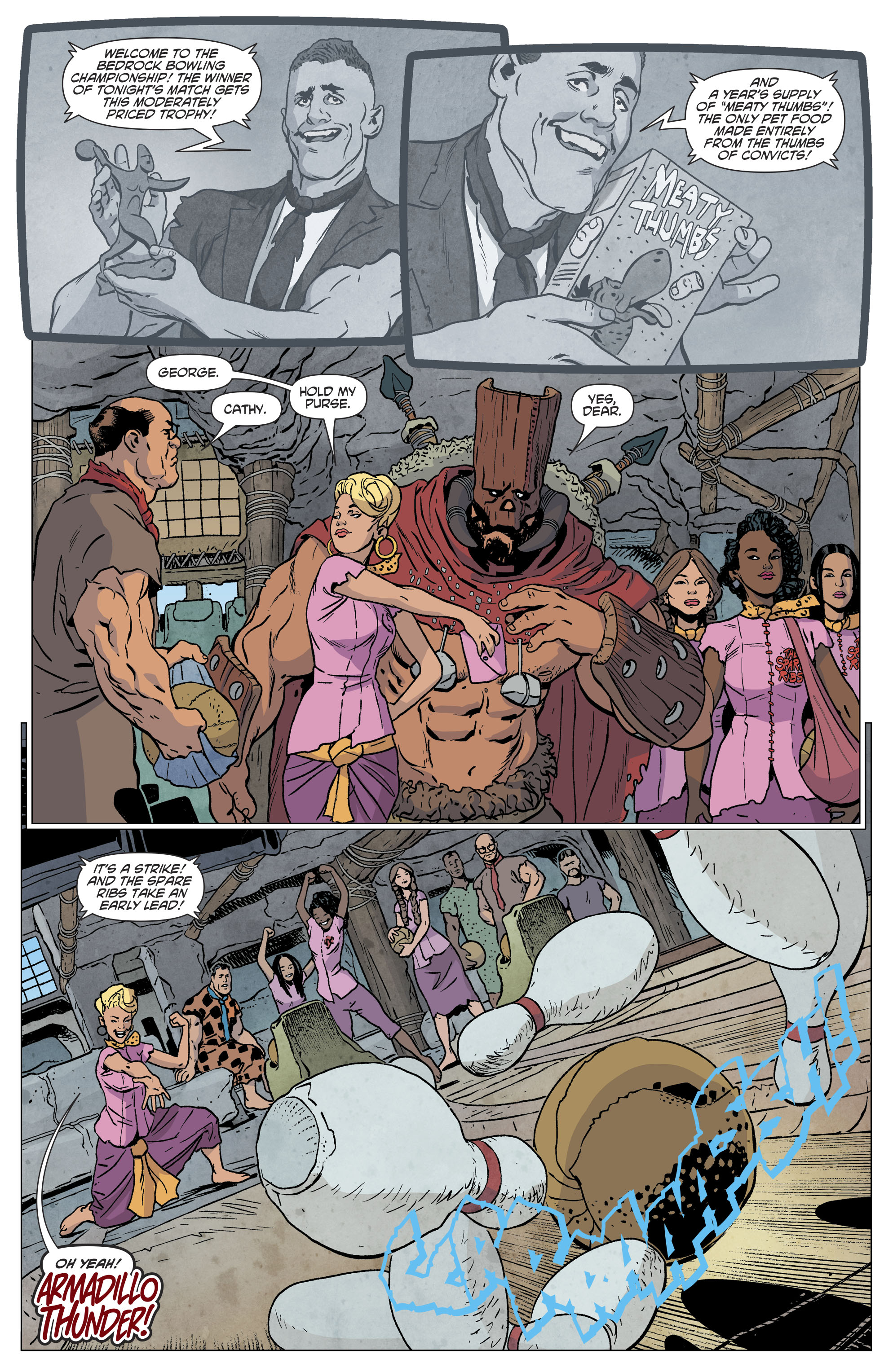 Read online The Flintstones comic -  Issue #12 - 13