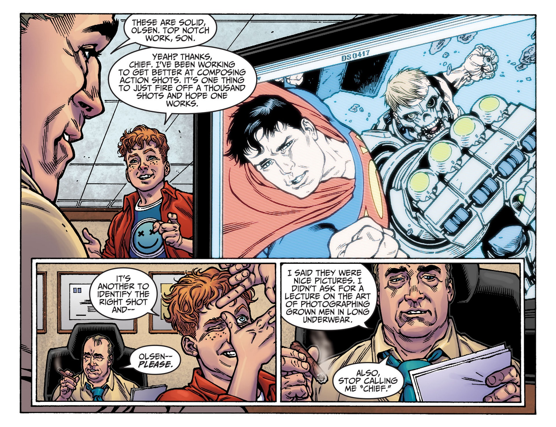 Read online Adventures of Superman [I] comic -  Issue #37 - 13