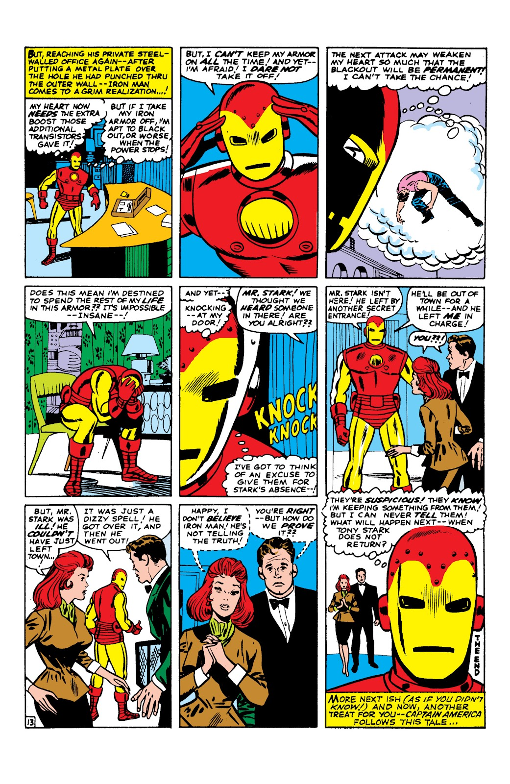 Read online Marvel Masterworks: The Invincible Iron Man comic -  Issue # TPB 2 (Part 2) - 54