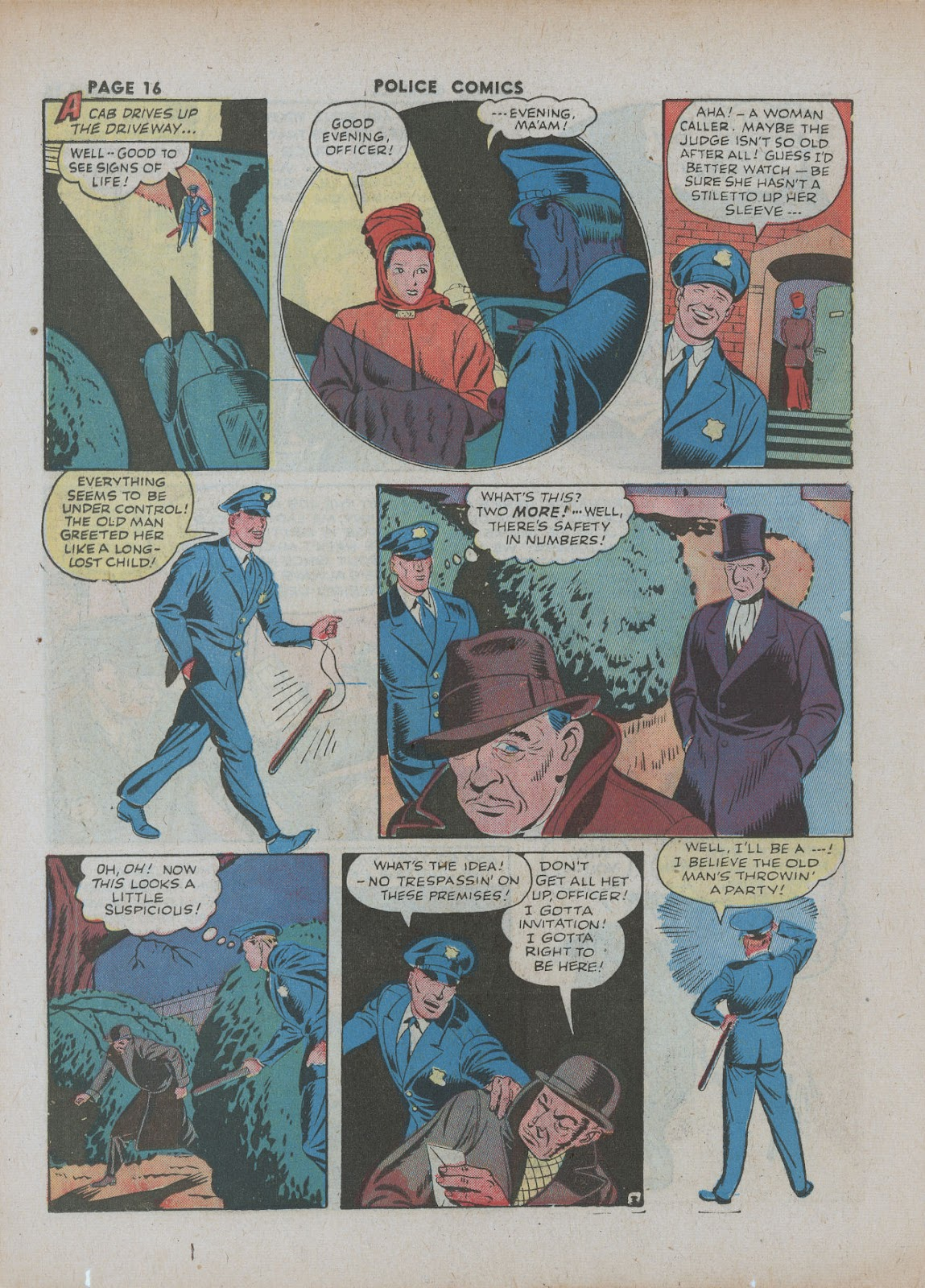 Police Comics issue 18 - Page 18