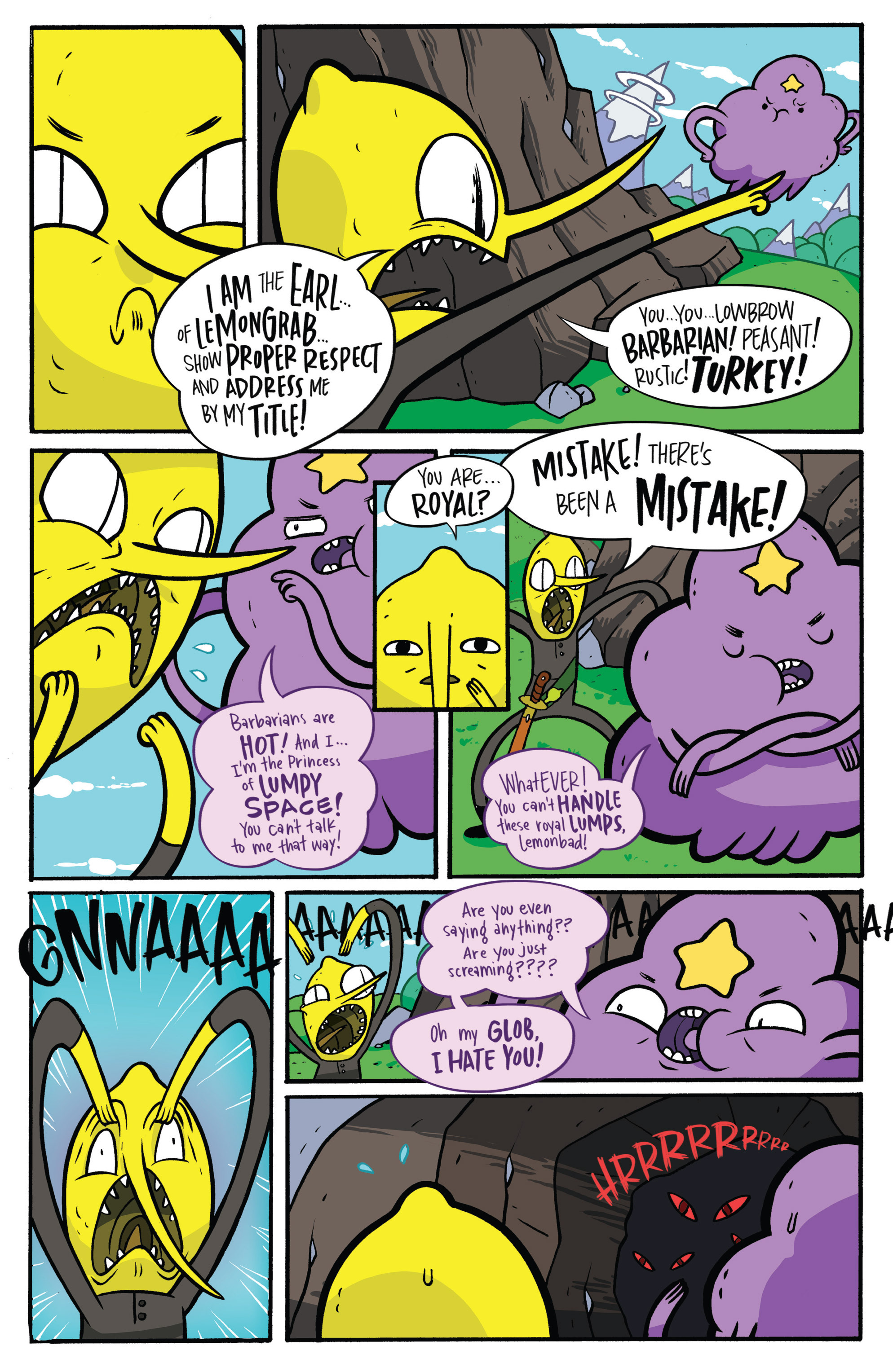 Read online Adventure Time: Candy Capers comic -  Issue #3 - 19