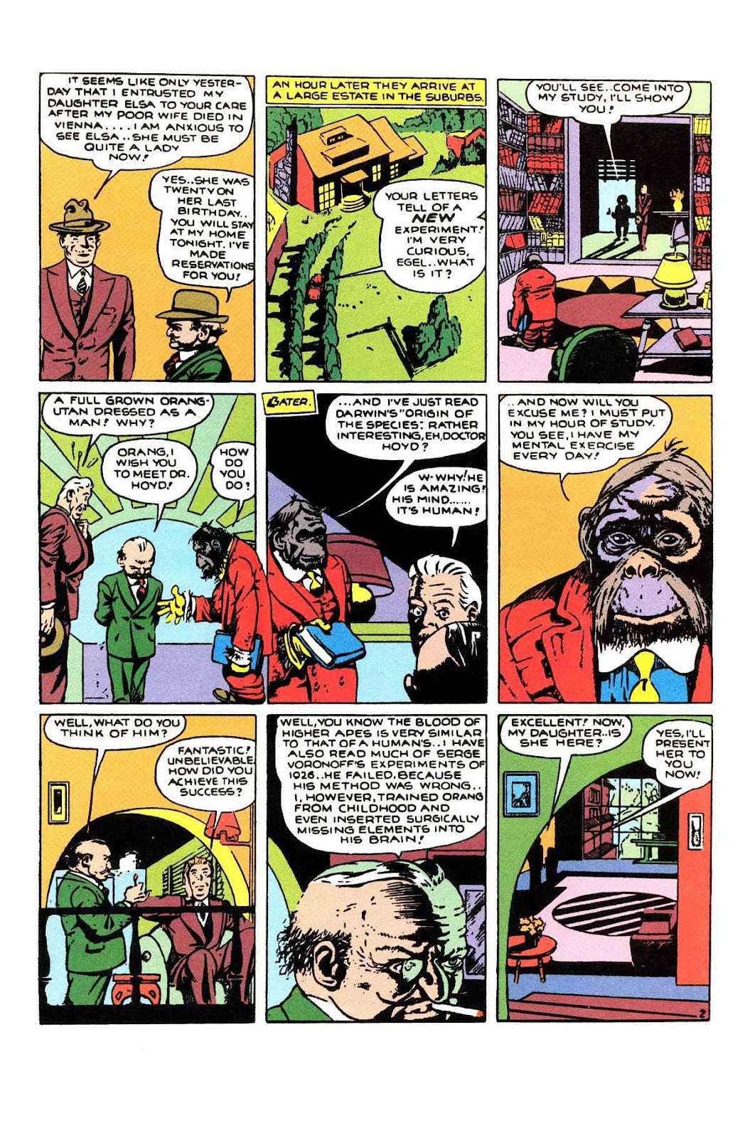 Read online Will Eisner's The Spirit Archives comic -  Issue # TPB 1 (Part 1) - 94