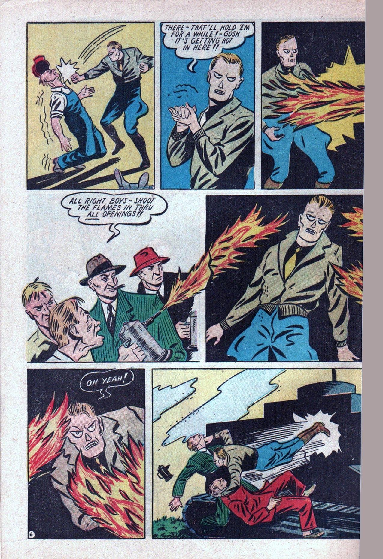 Read online Amazing Man Comics comic -  Issue #20 - 63